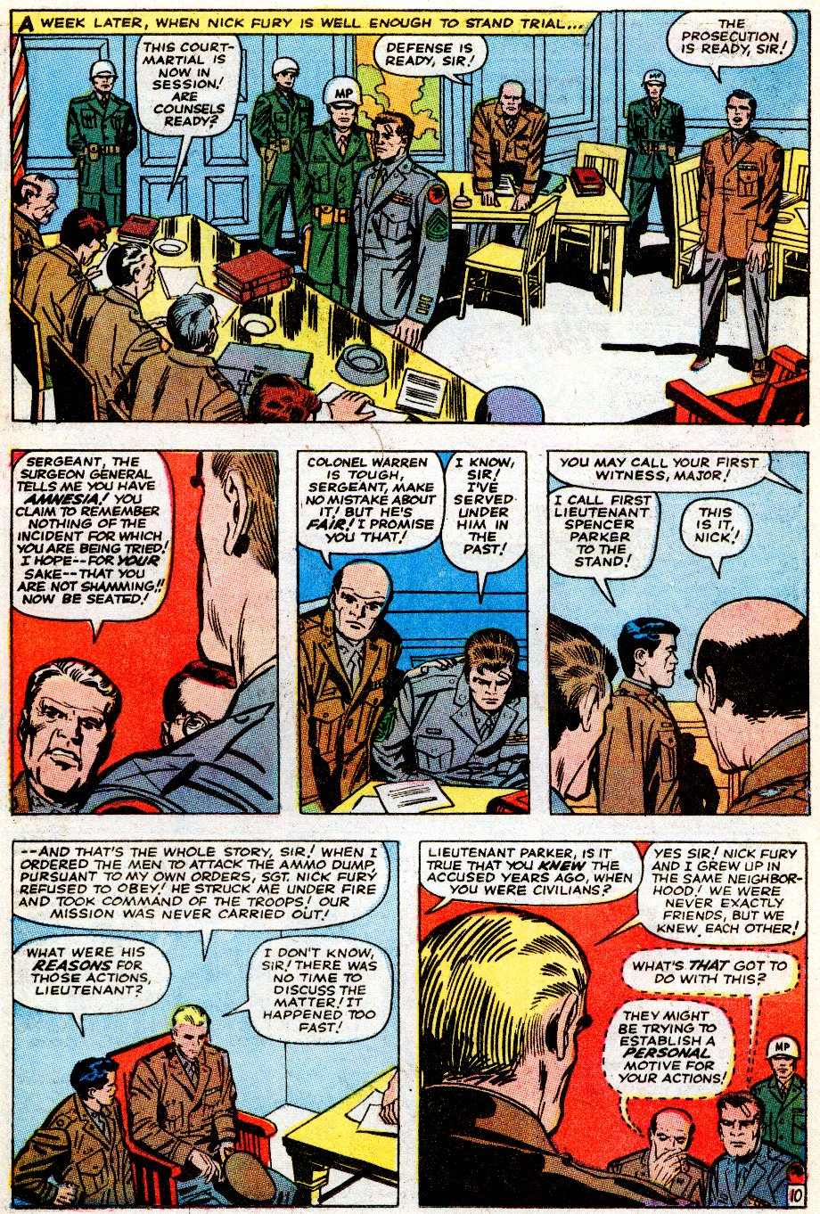 Read online Sgt. Fury comic -  Issue # _Special 5 - 49