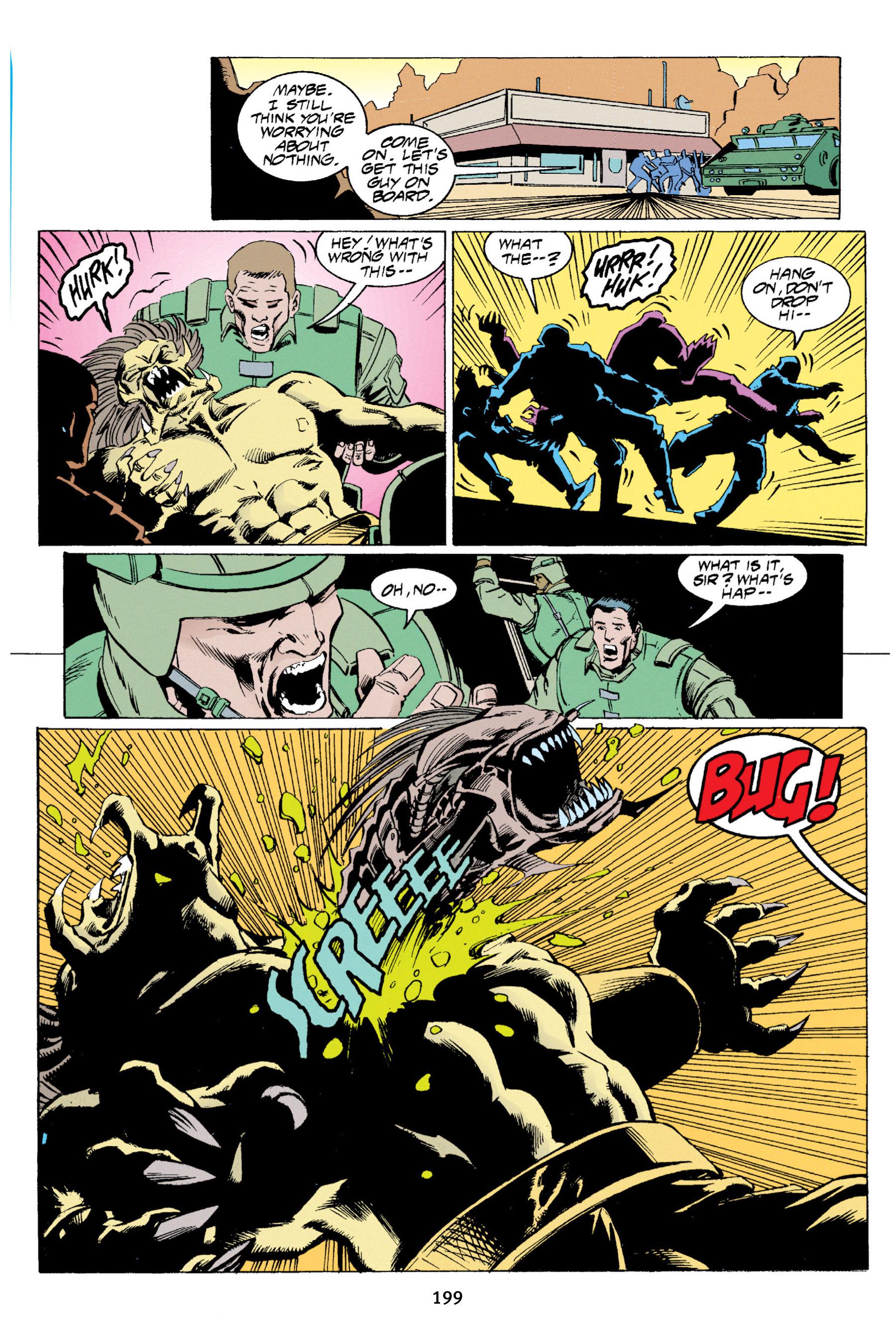 Read online Aliens vs. Predator Omnibus comic -  Issue # _TPB 1 Part 2 - 95