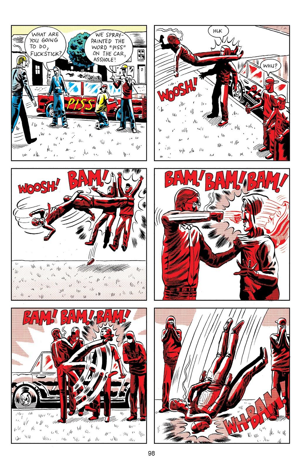 Read online Terror Assaulter: O.M.W.O.T (One Man War On Terror) comic -  Issue # TPB - 96