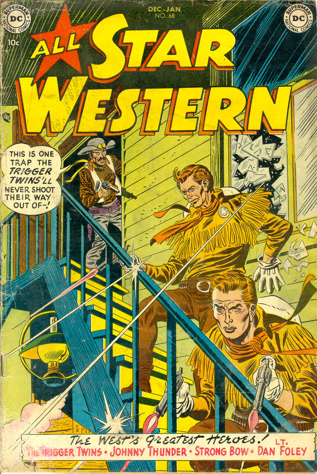Read online All-Star Western (1951) comic -  Issue #68 - 1