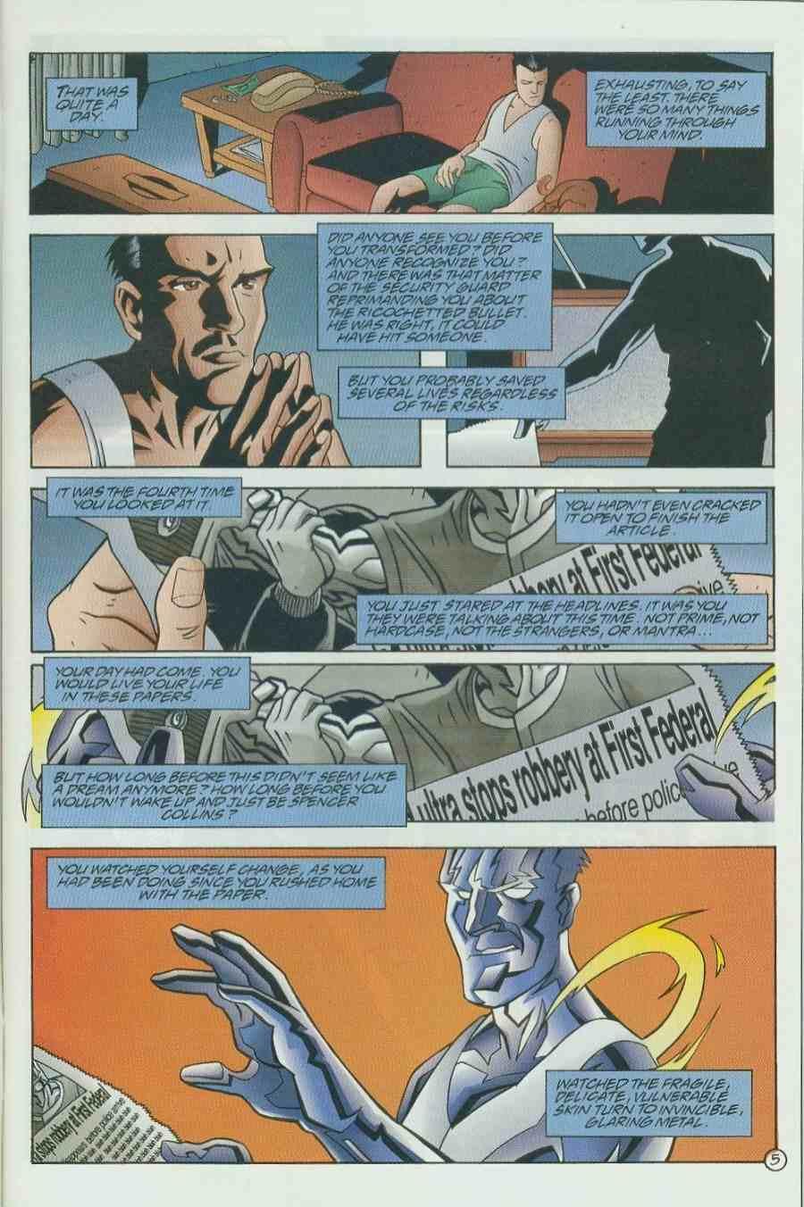 Read online Ultraverse Premiere comic -  Issue #6 - 7