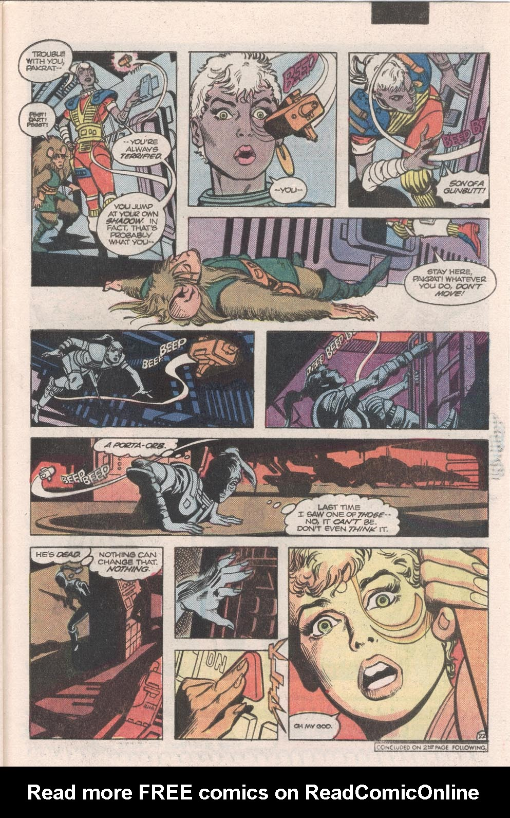 Read online Atari Force (1984) comic -  Issue #9 - 24