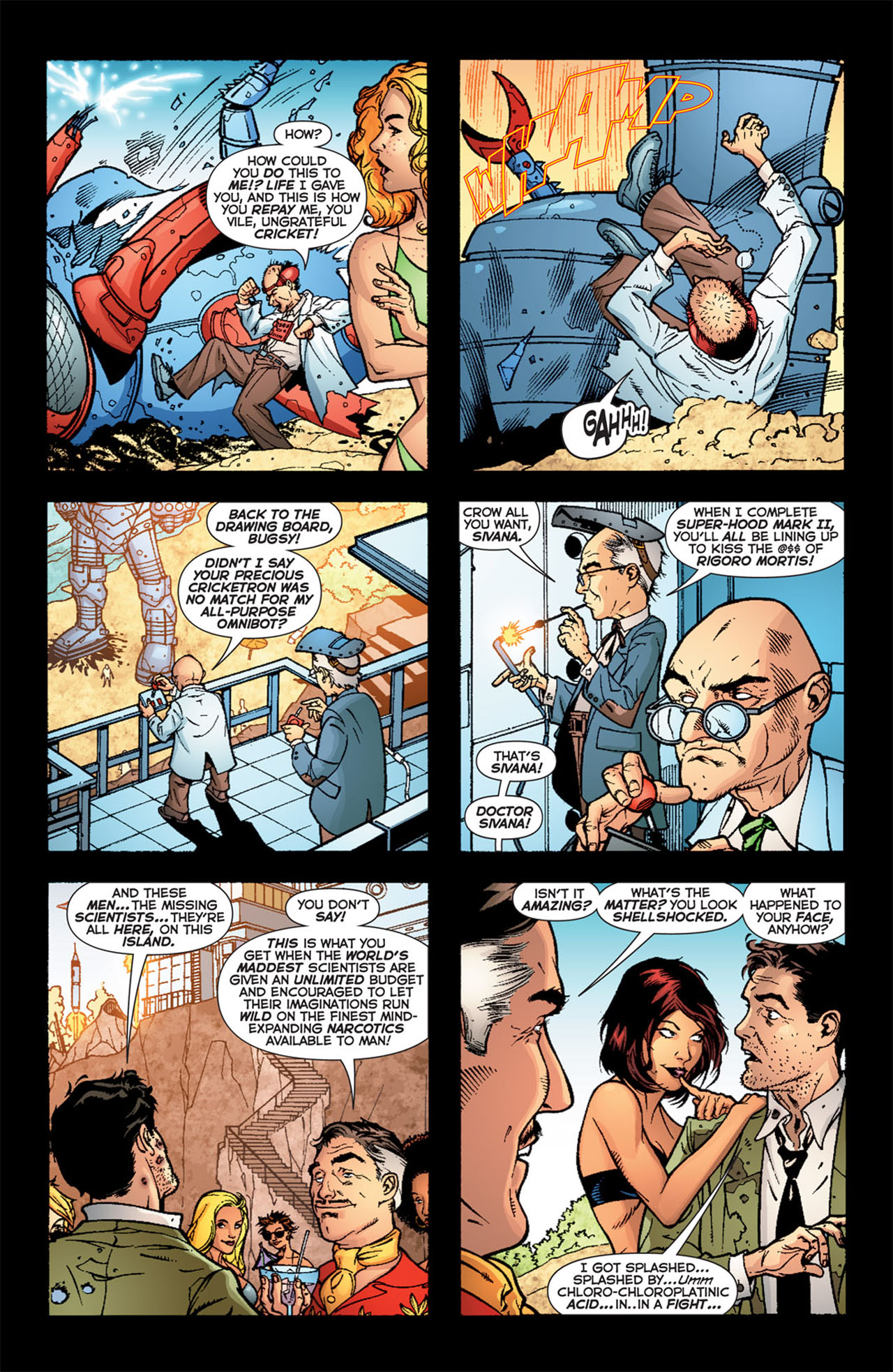 Read online 52 comic -  Issue #23 - 6