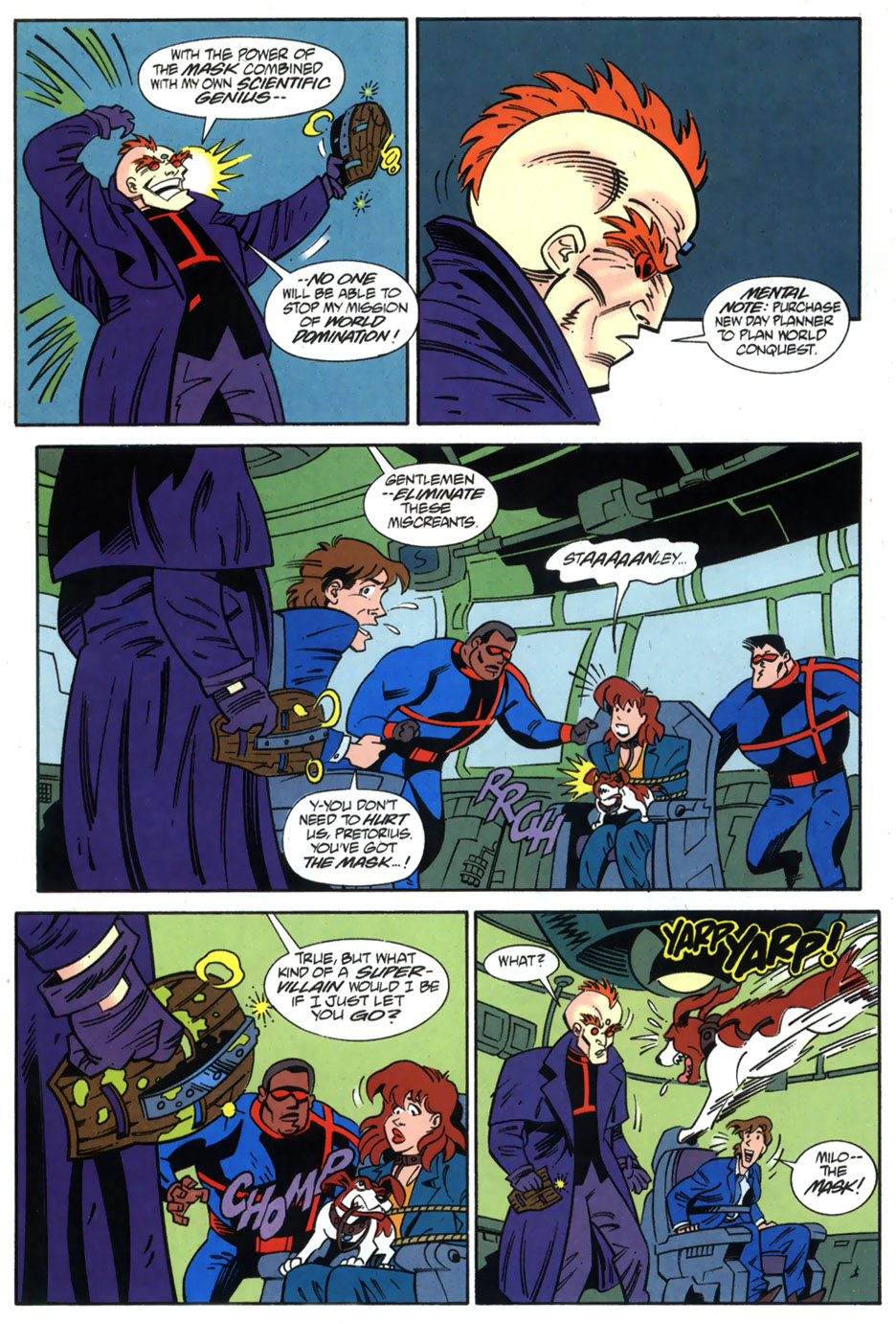 Read online Adventures Of The Mask comic -  Issue #2 - 16