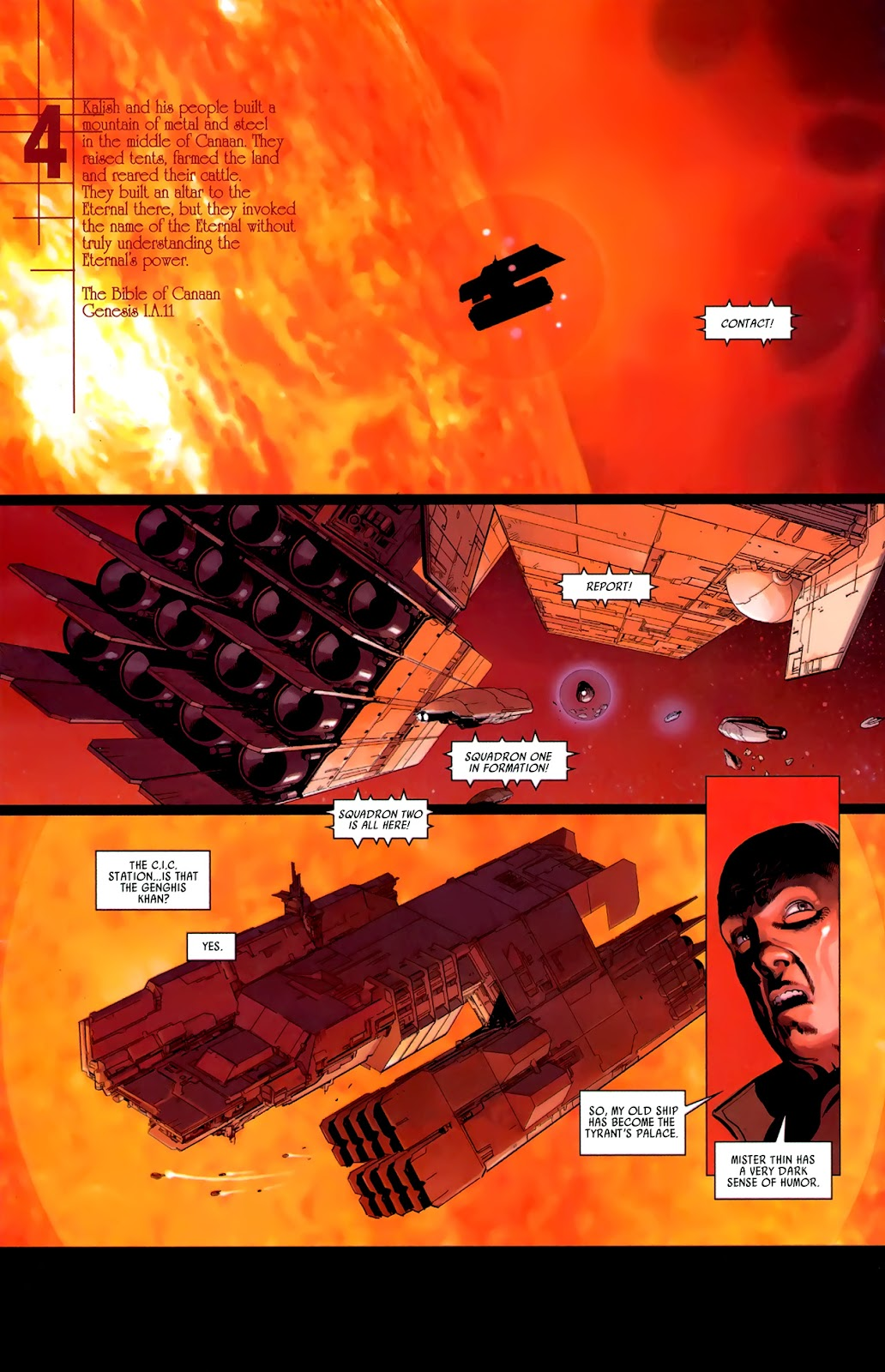 Read online Universal War One: Revelations comic -  Issue #3 - 26