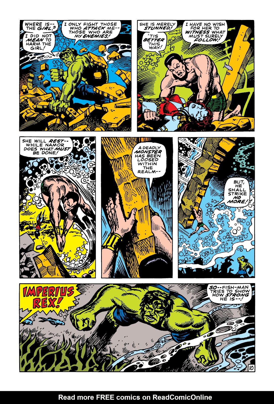 Read online Marvel Masterworks: The Incredible Hulk comic -  Issue # TPB 5 (Part 2) - 63