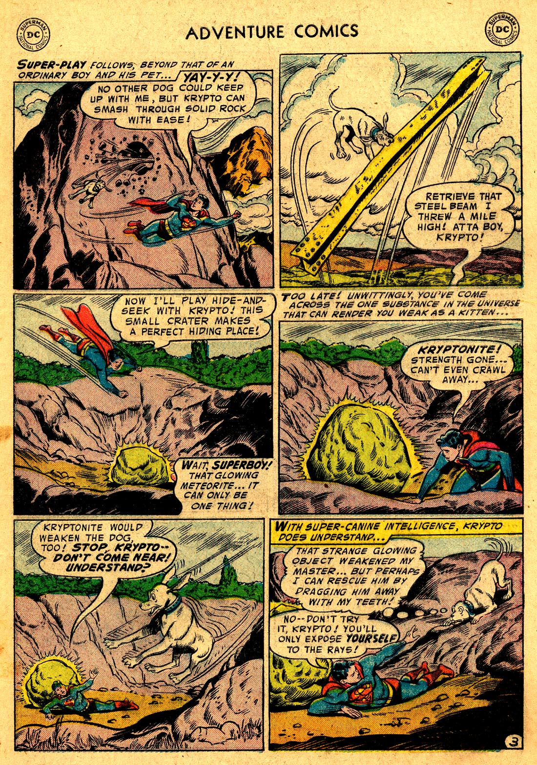 Read online Adventure Comics (1938) comic -  Issue #220 - 5