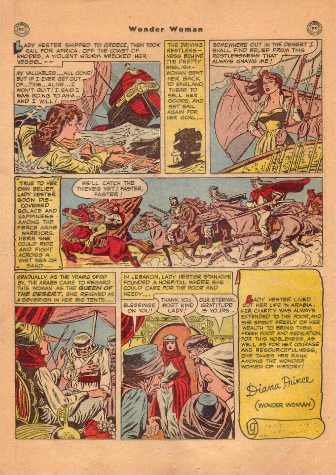 Read online Wonder Woman (1942) comic -  Issue #47 - 17