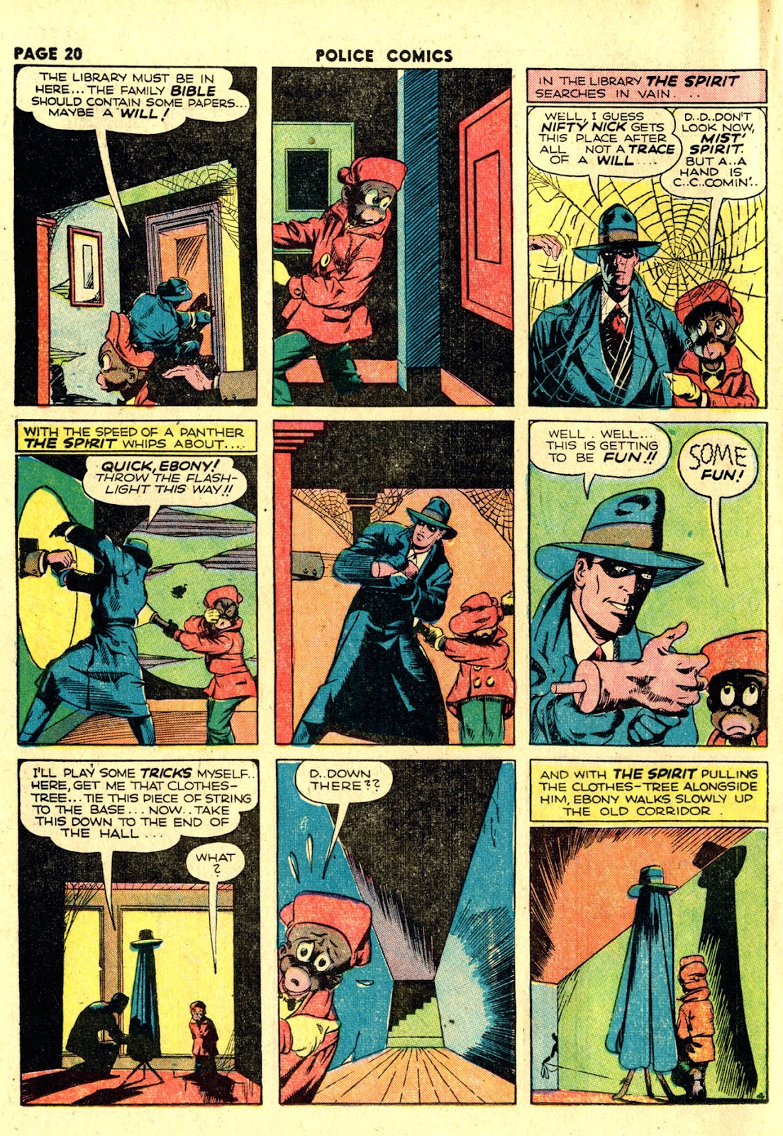 Police Comics issue 19 - Page 22