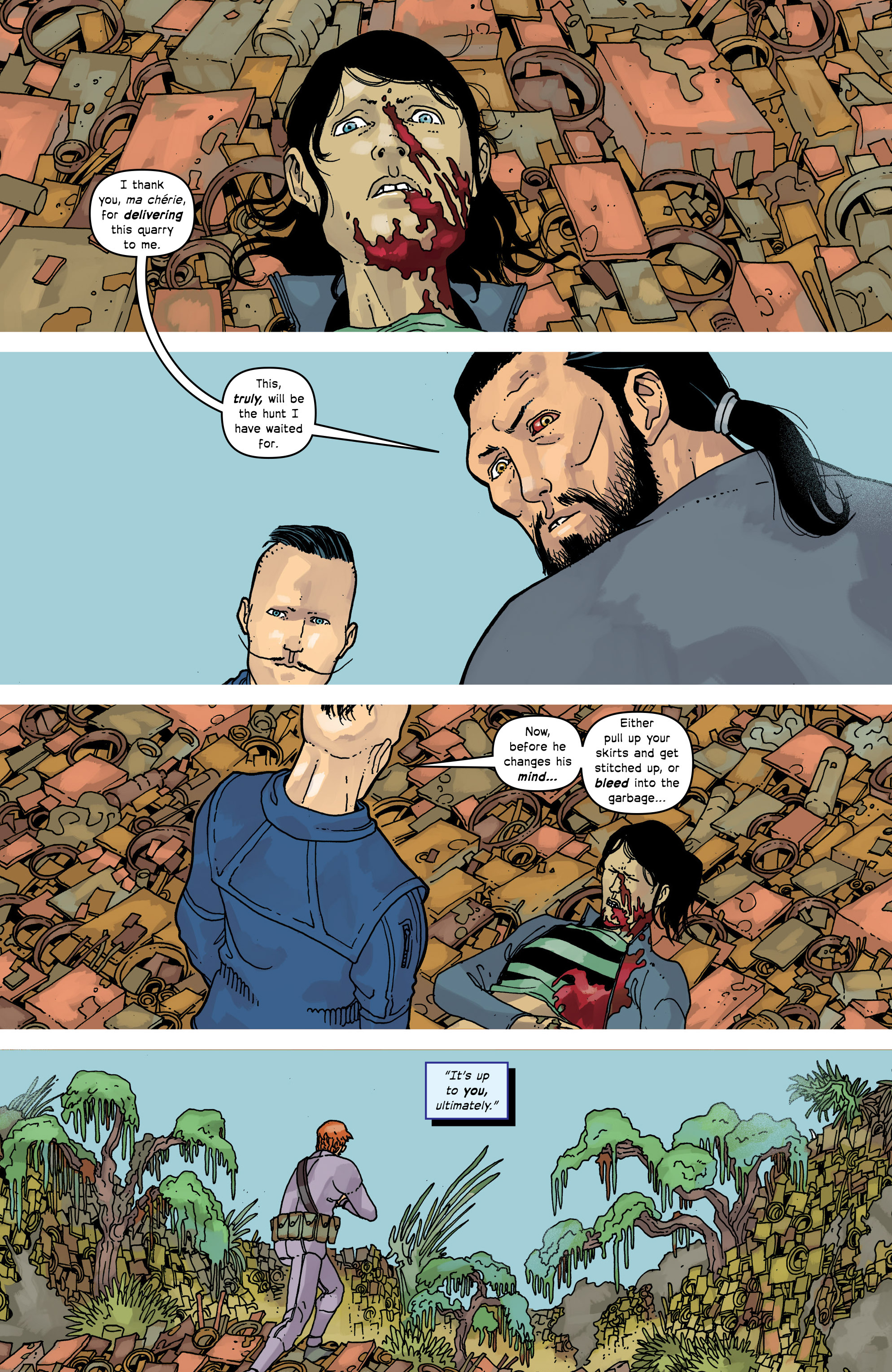 Read online Great Pacific comic -  Issue #17 - 10