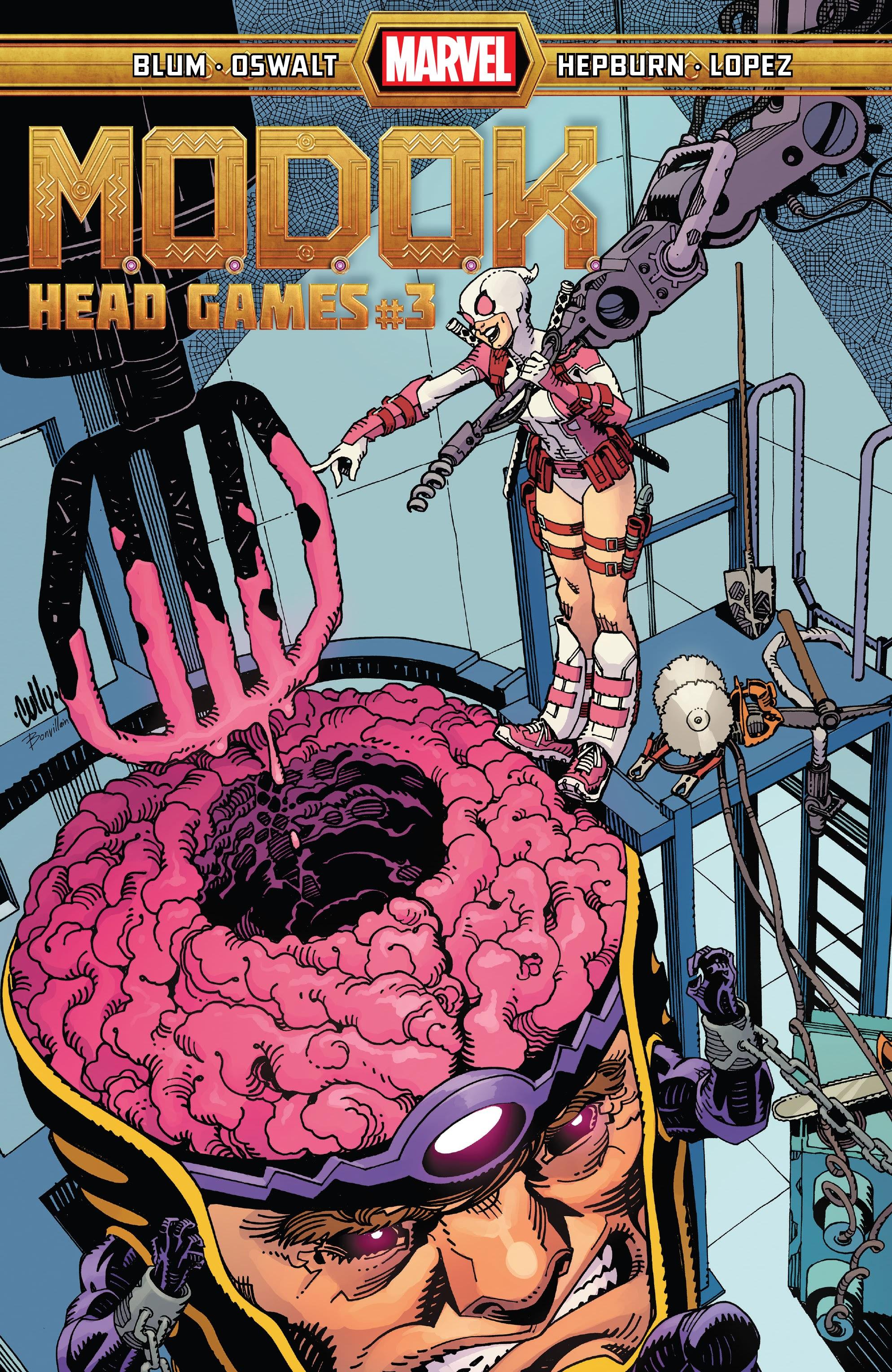 M.O.D.O.K.: Head Games  3 Page 1