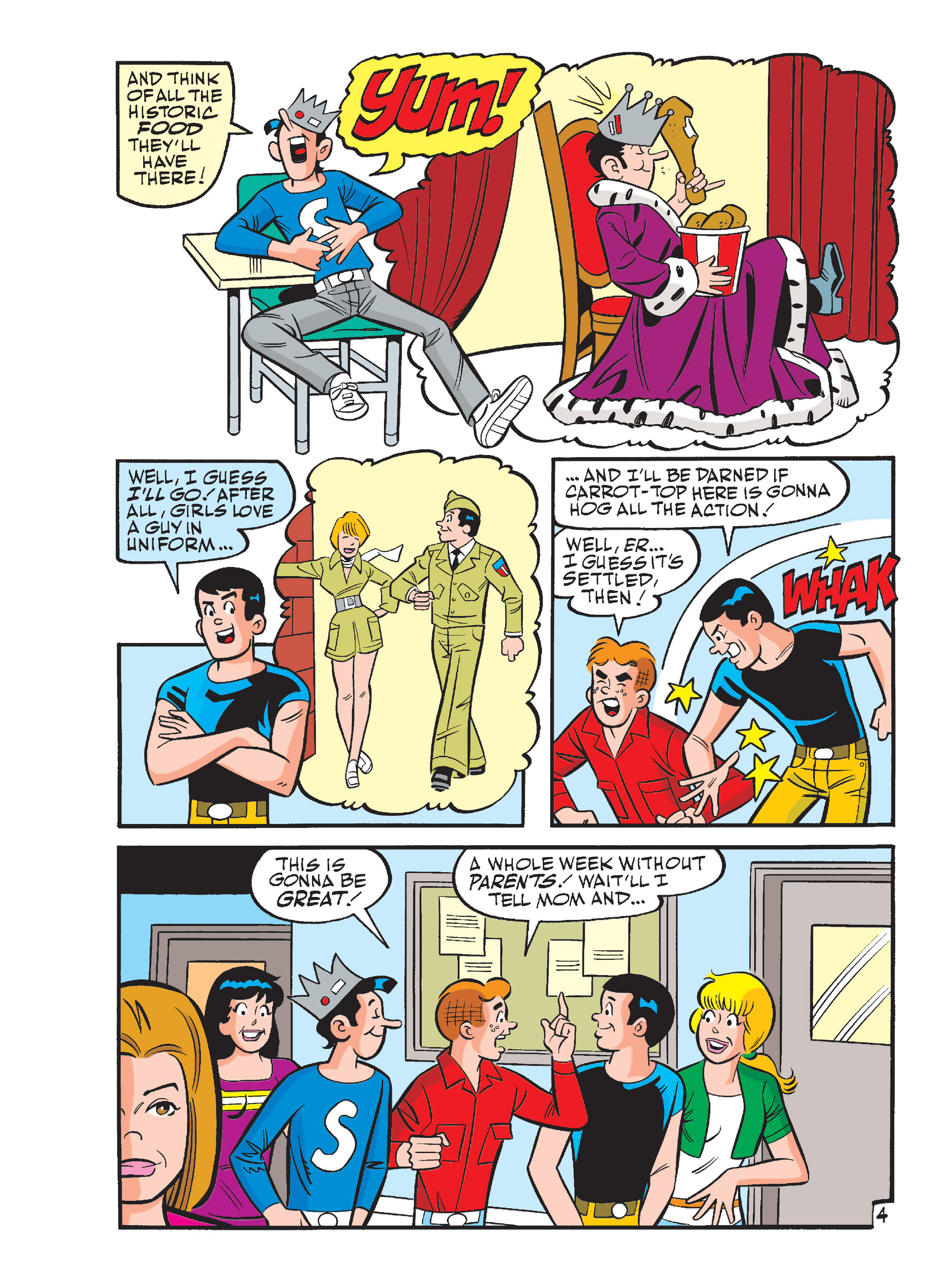Read online Archie's Funhouse Double Digest comic -  Issue #15 - 39