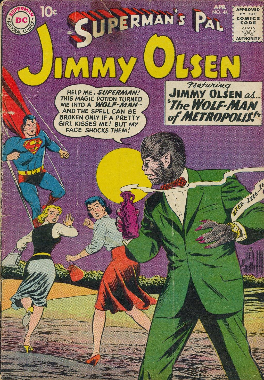 Supermans Pal Jimmy Olsen (1954) 44 Page 1