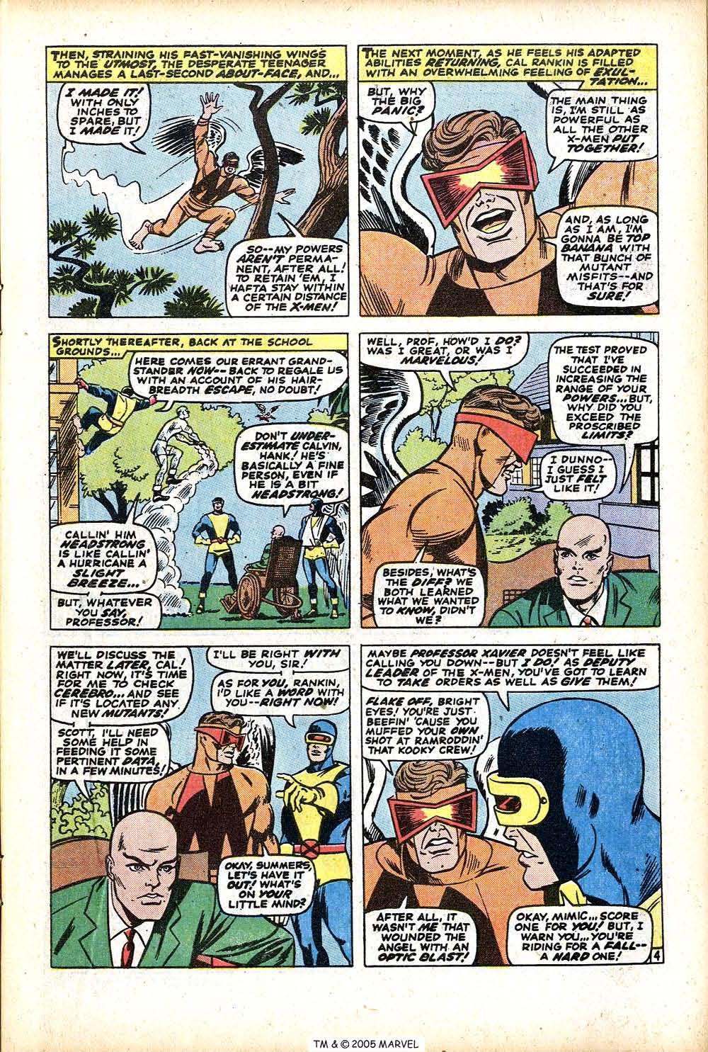 Uncanny X-Men (1963) 76 Page 6