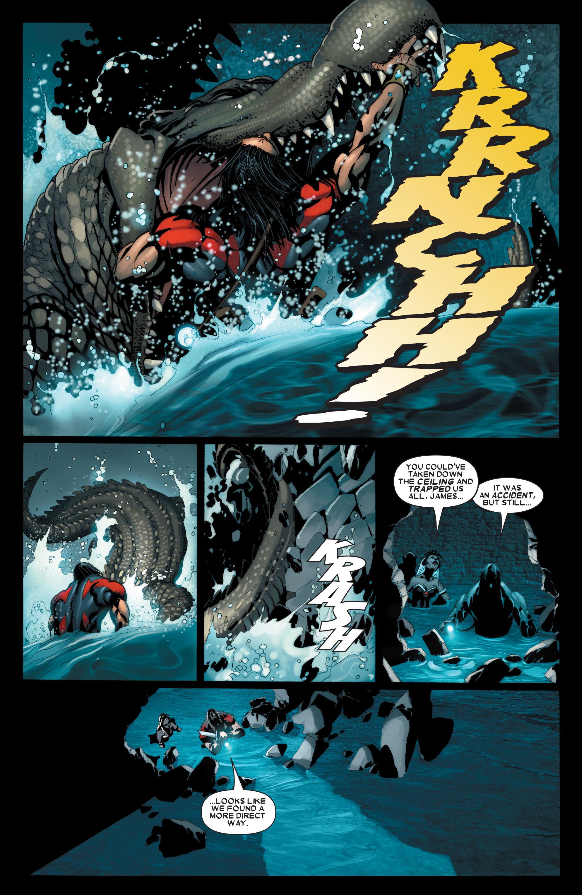 Read online Uncanny X-Men (1963) comic -  Issue #488 - 11