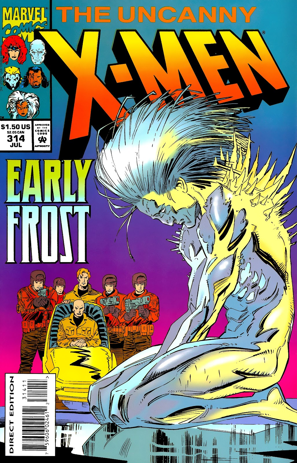 Uncanny X-Men (1963) issue 314 - Page 1