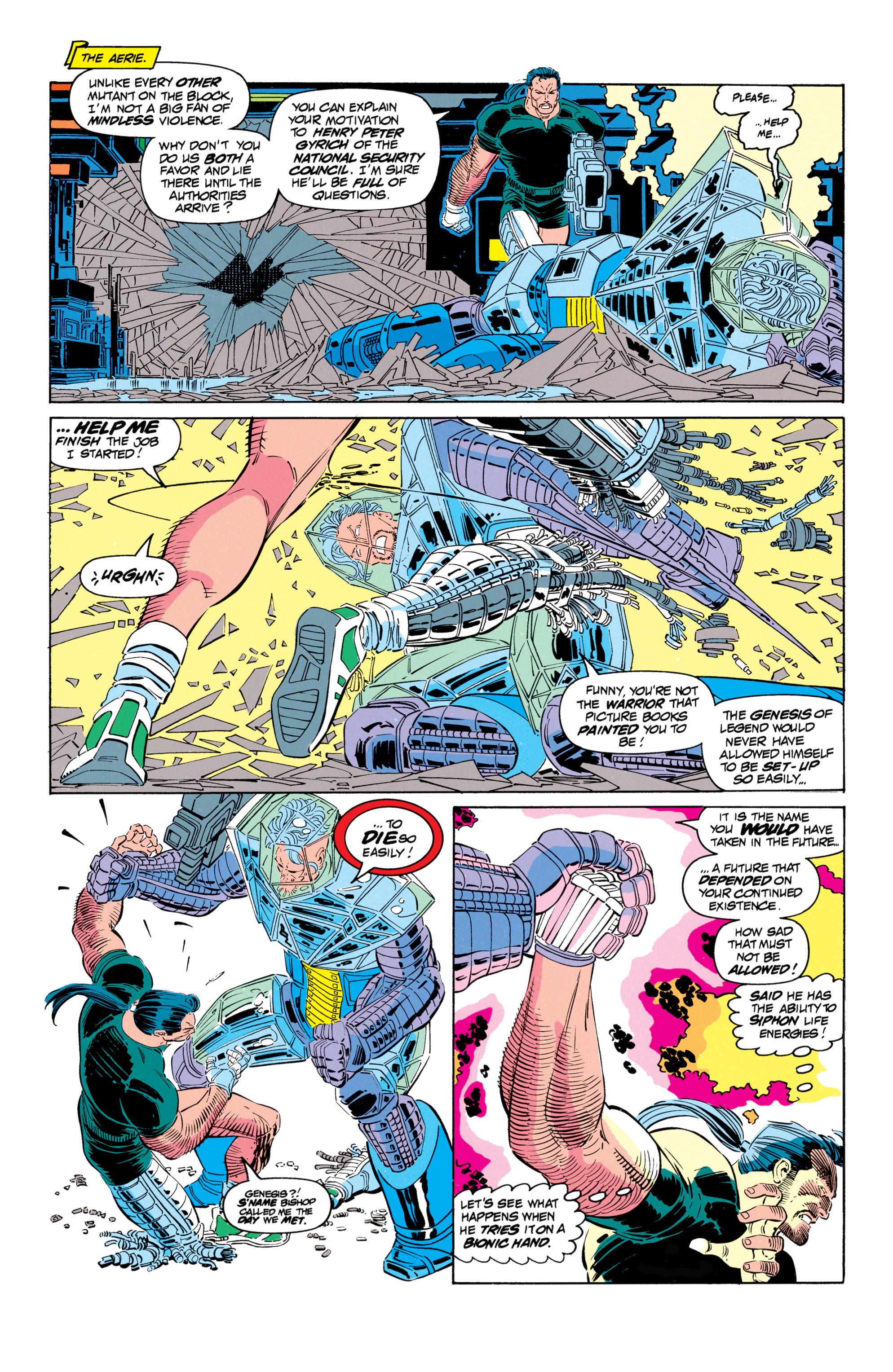 Read online Uncanny X-Men (1963) comic -  Issue #301 - 17