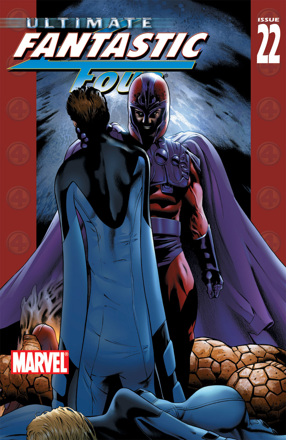 Read online Ultimate Fantastic Four (2004) comic -  Issue #22 - 1