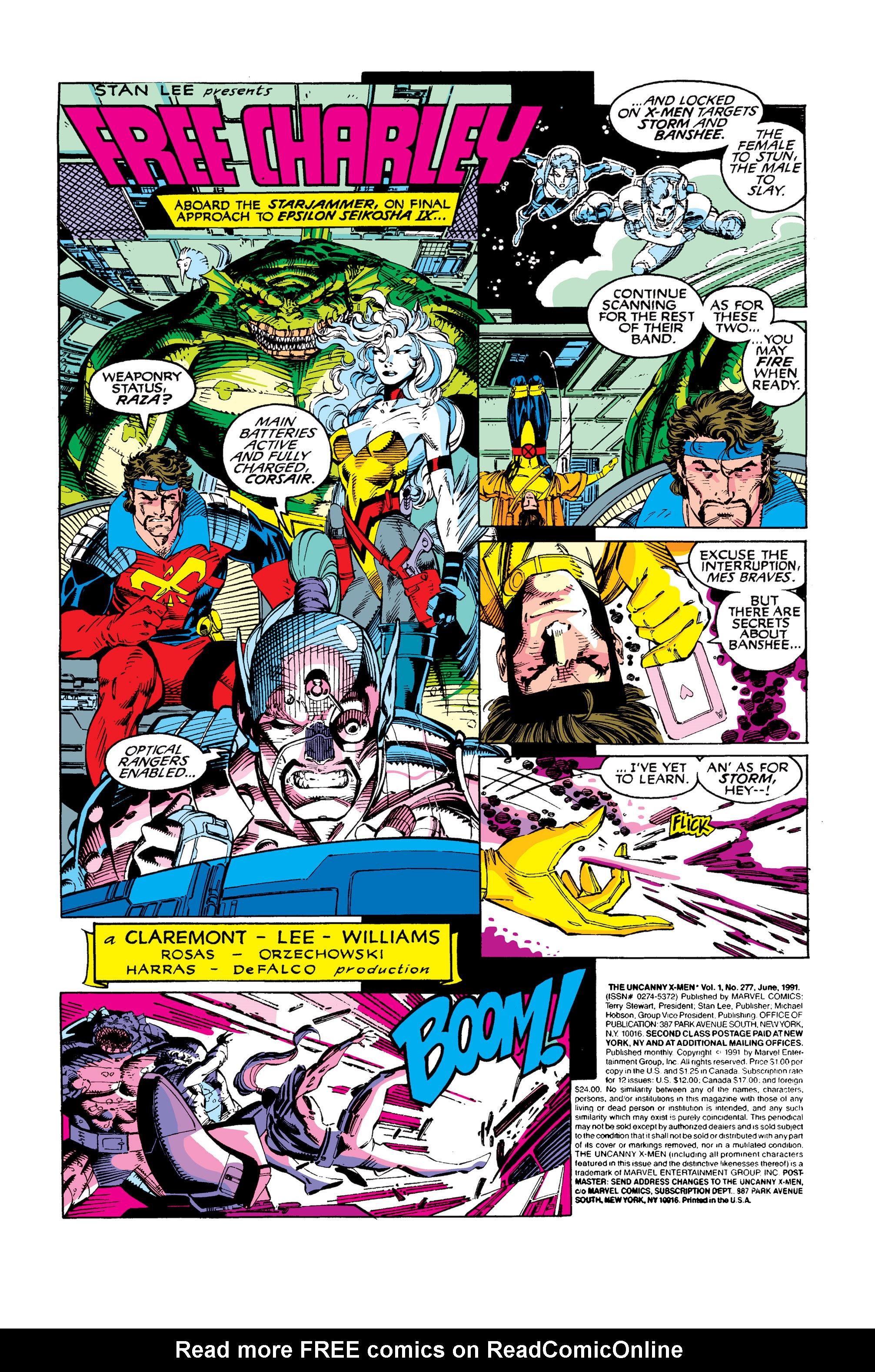 Read online Uncanny X-Men (1963) comic -  Issue #277 - 2
