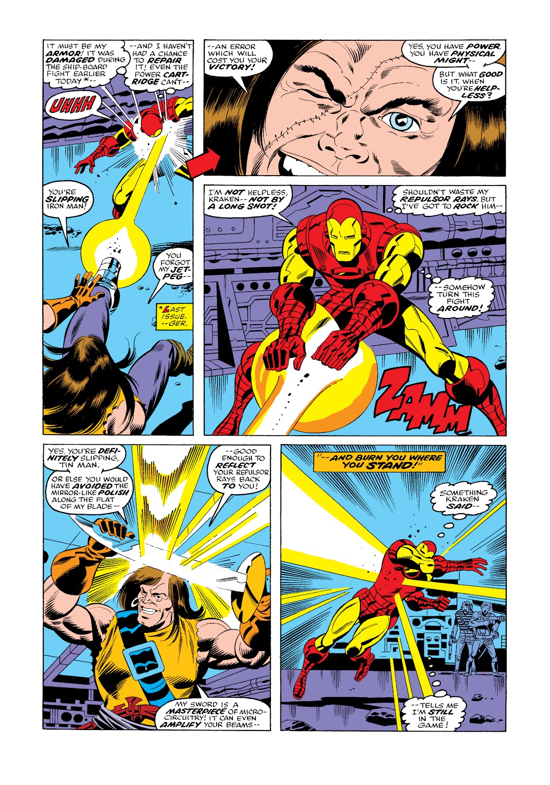 Read online Marvel Masterworks: The Invincible Iron Man comic -  Issue # TPB 11 (Part 3) - 81