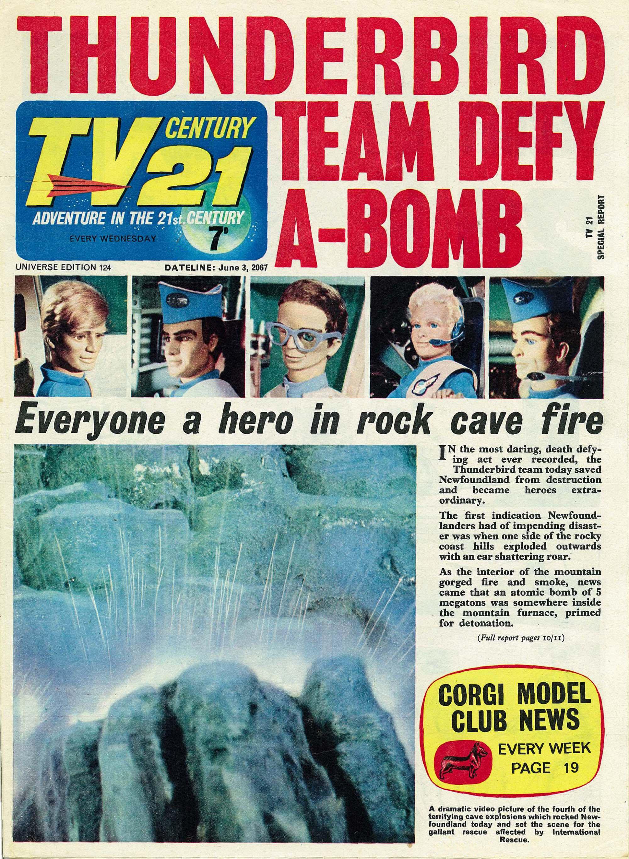 TV Century 21 (TV 21) 124 Page 1
