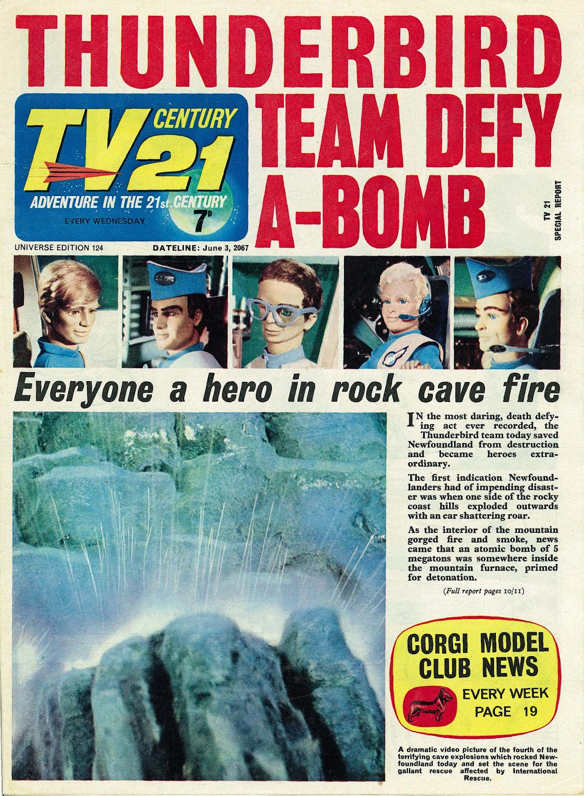 TV Century 21 (TV 21) issue 124 - Page 1