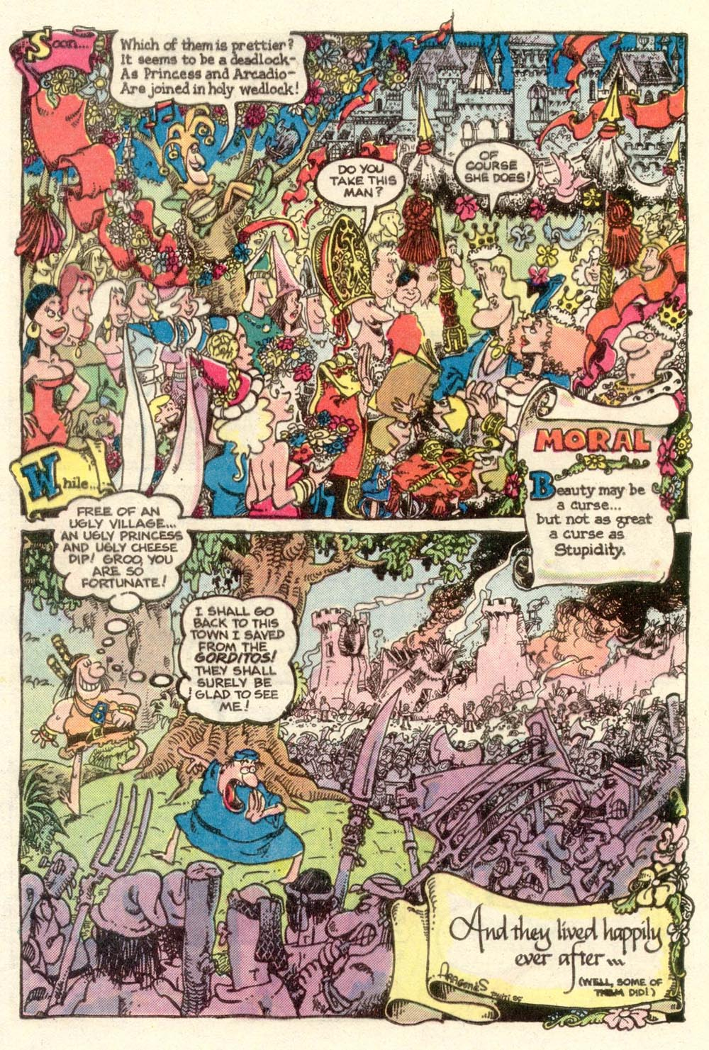 Read online Sergio Aragonés Groo the Wanderer comic -  Issue #11 - 26