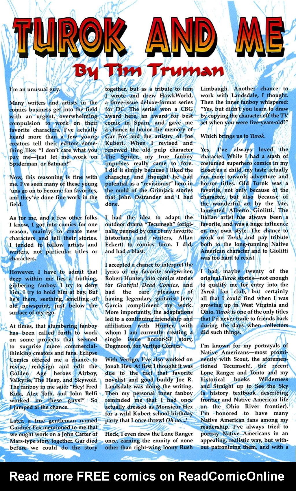 Read online Turok, Dinosaur Hunter (1993) comic -  Issue #0 - 26