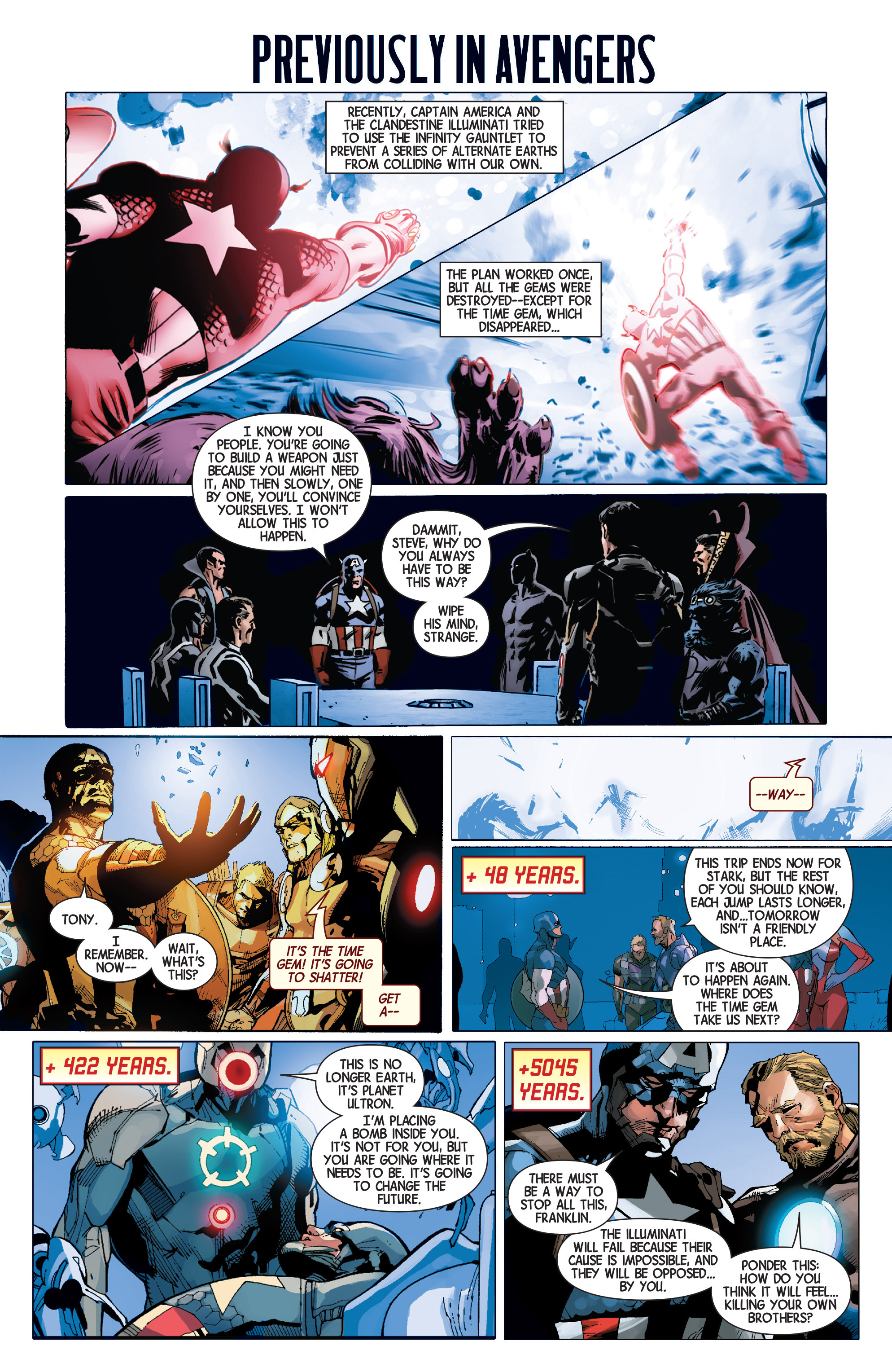 Read online Avengers (2013) comic -  Issue #33 - 2