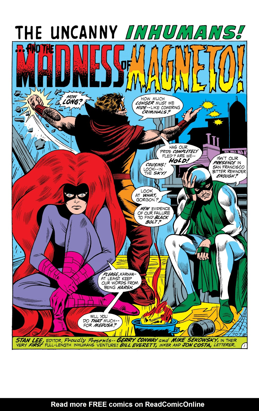 Read online Marvel Masterworks: The Inhumans comic -  Issue # TPB 1 (Part 2) - 58