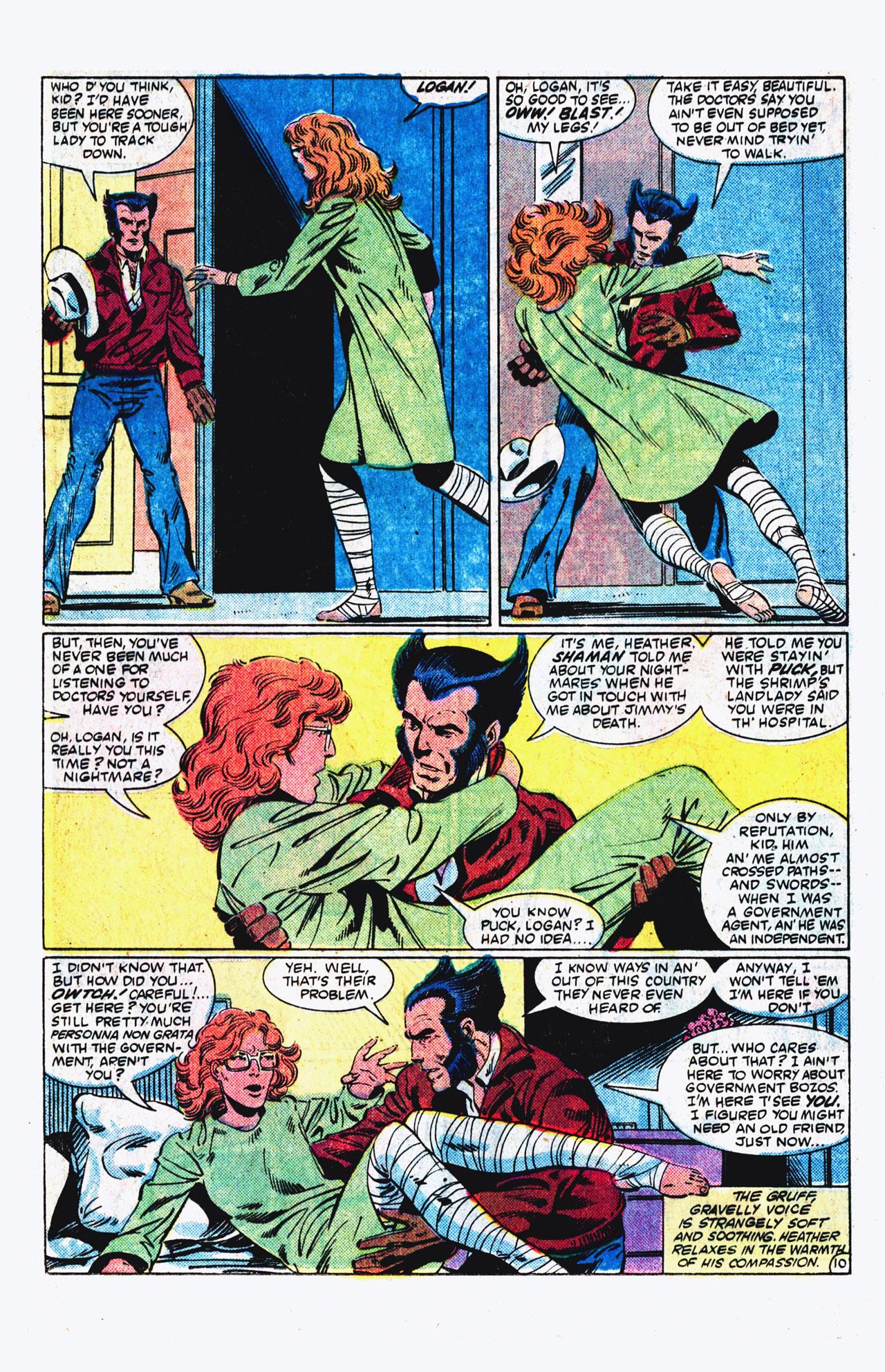 Read online Alpha Flight (1983) comic -  Issue #16 - 11