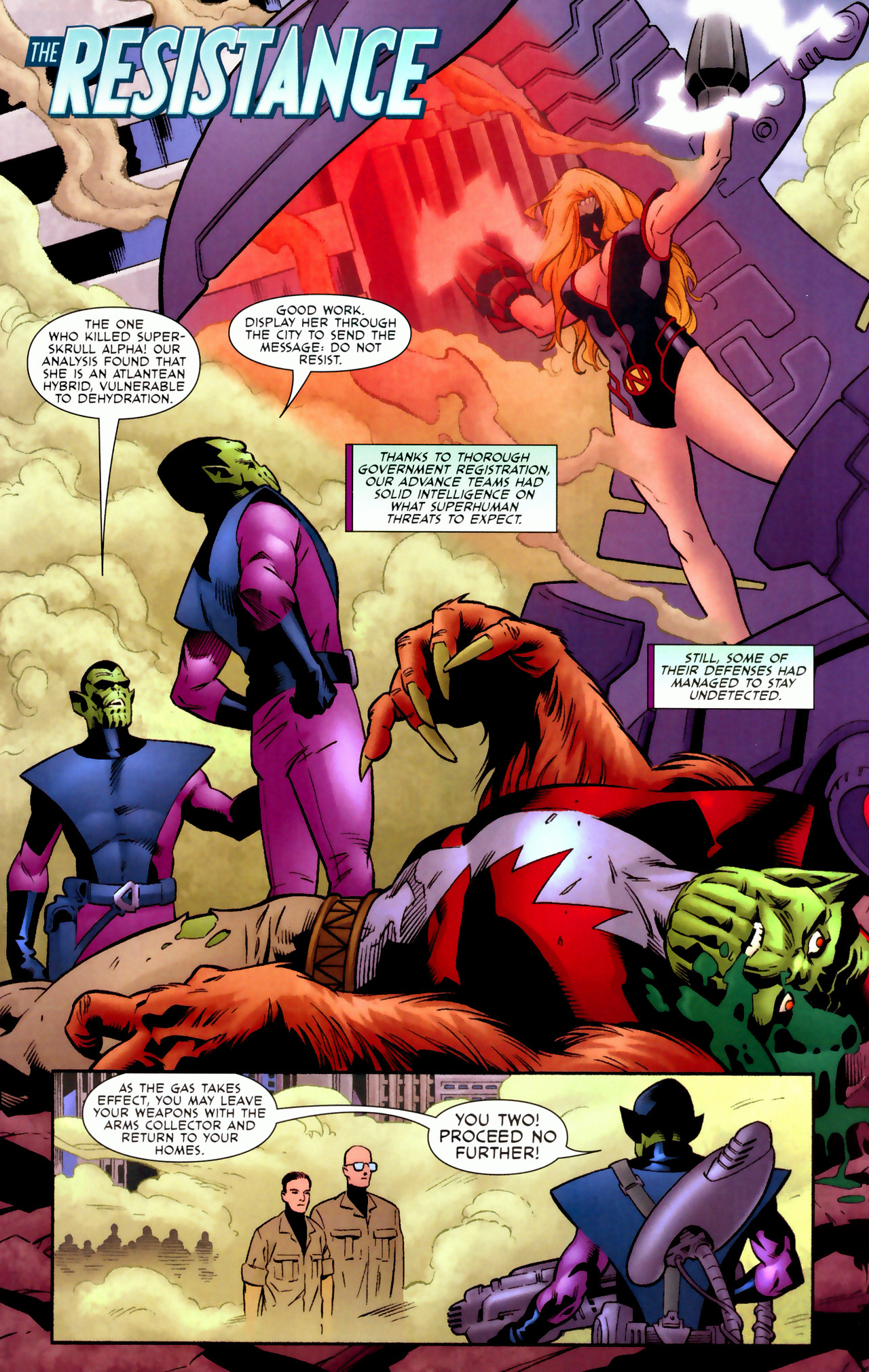 Read online Secret Invasion: Who Do You Trust? comic -  Issue # Full - 38
