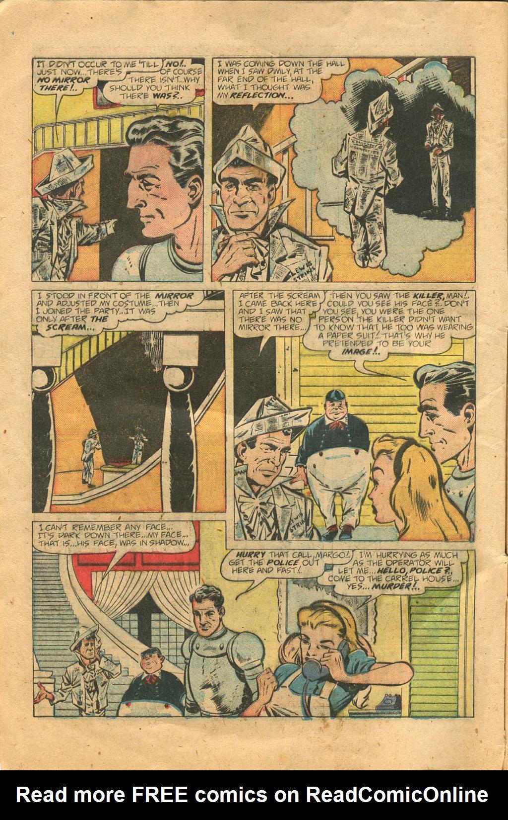 Read online Shadow Comics comic -  Issue #100 - 6