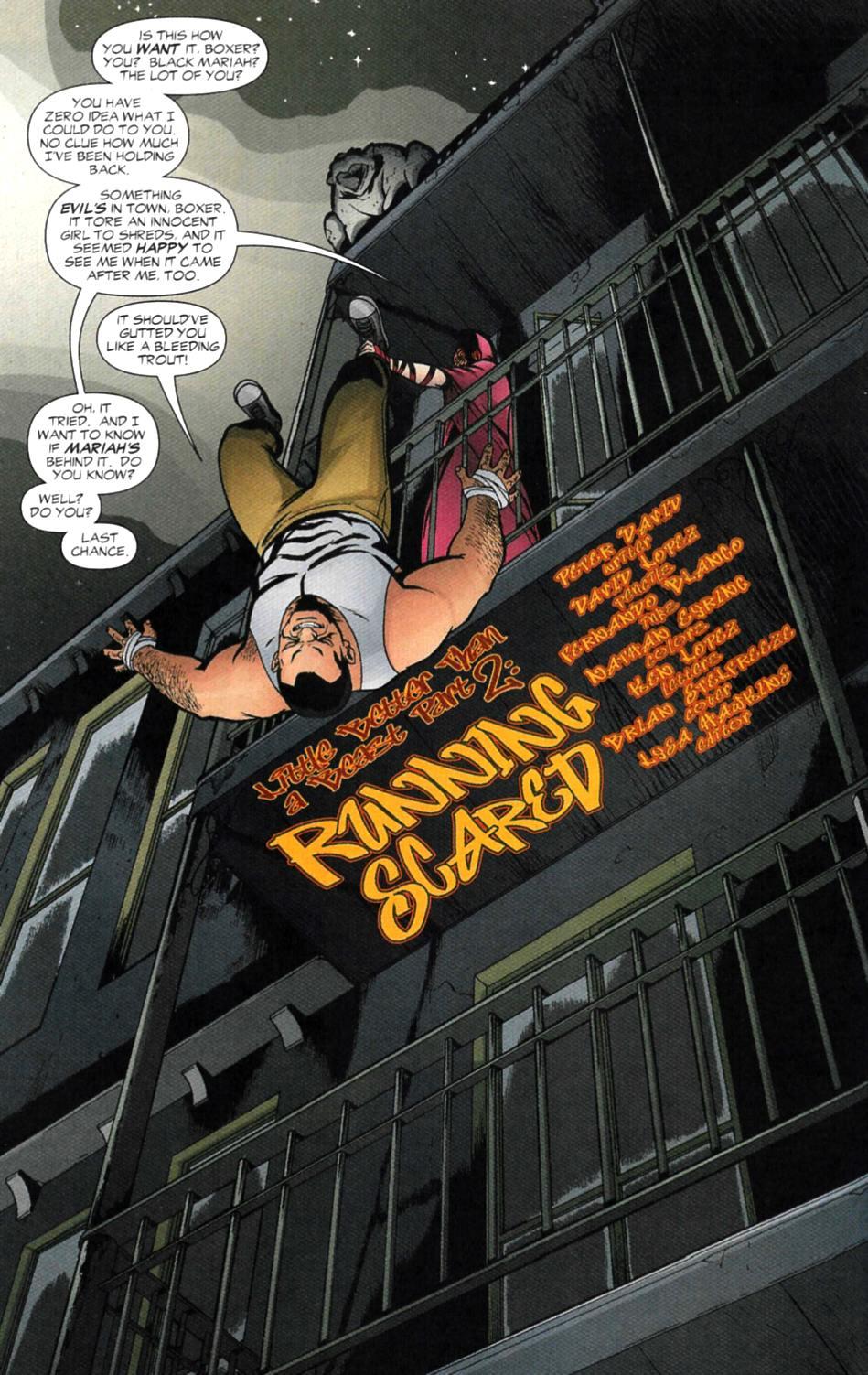 Read online Fallen Angel (2003) comic -  Issue #4 - 5