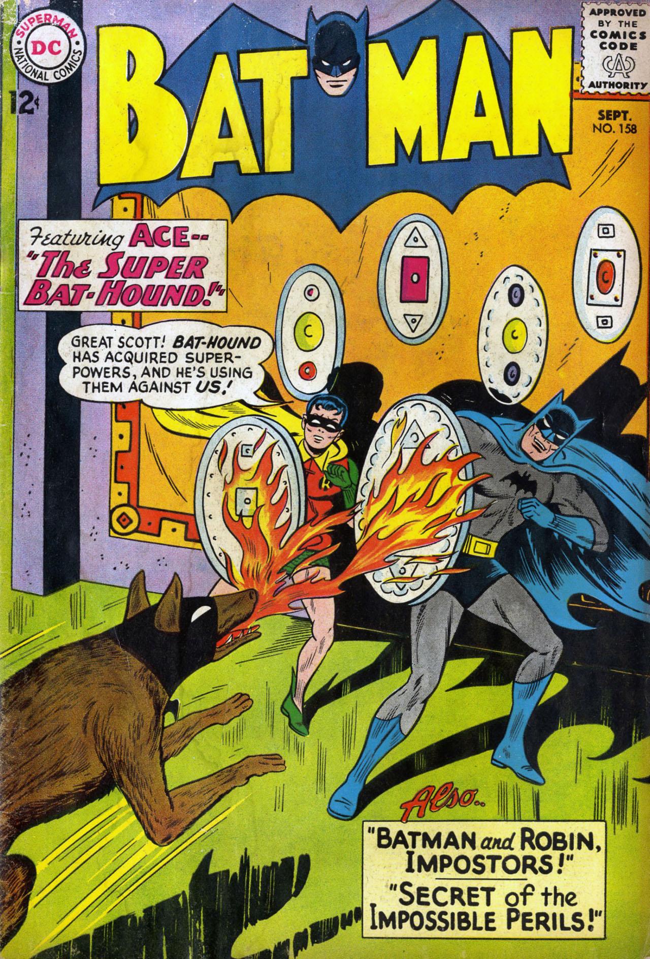 Batman (1940) 158 Page 1