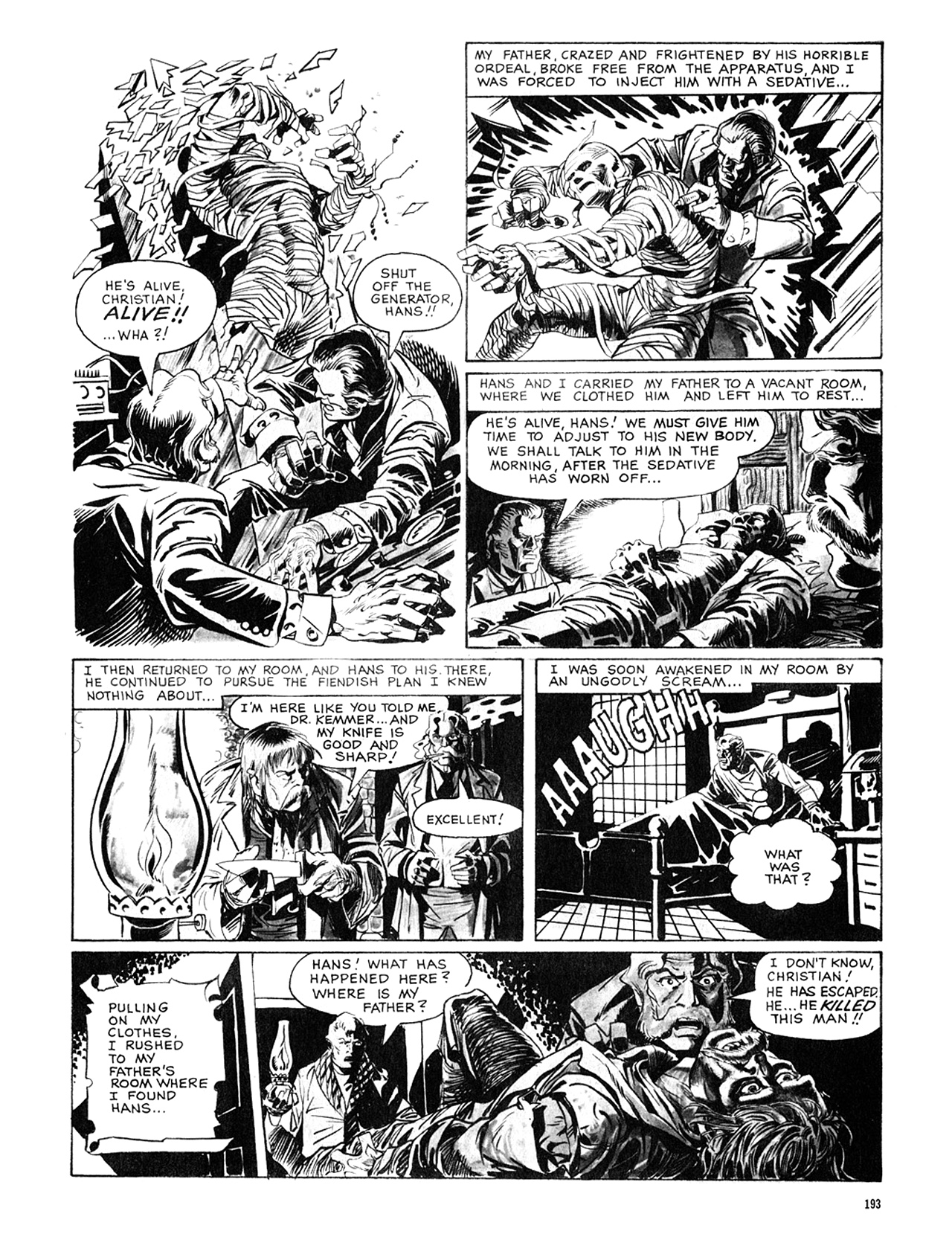 Read online Eerie Archives comic -  Issue # TPB 8 - 194