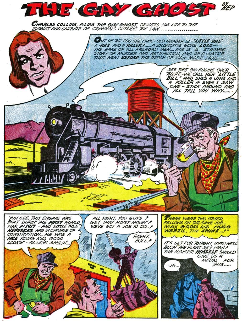 Read online Sensation (Mystery) Comics comic -  Issue #29 - 31