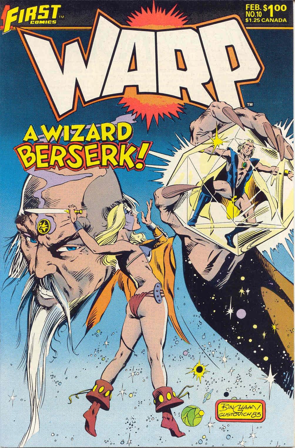 Warp issue 10 - Page 1