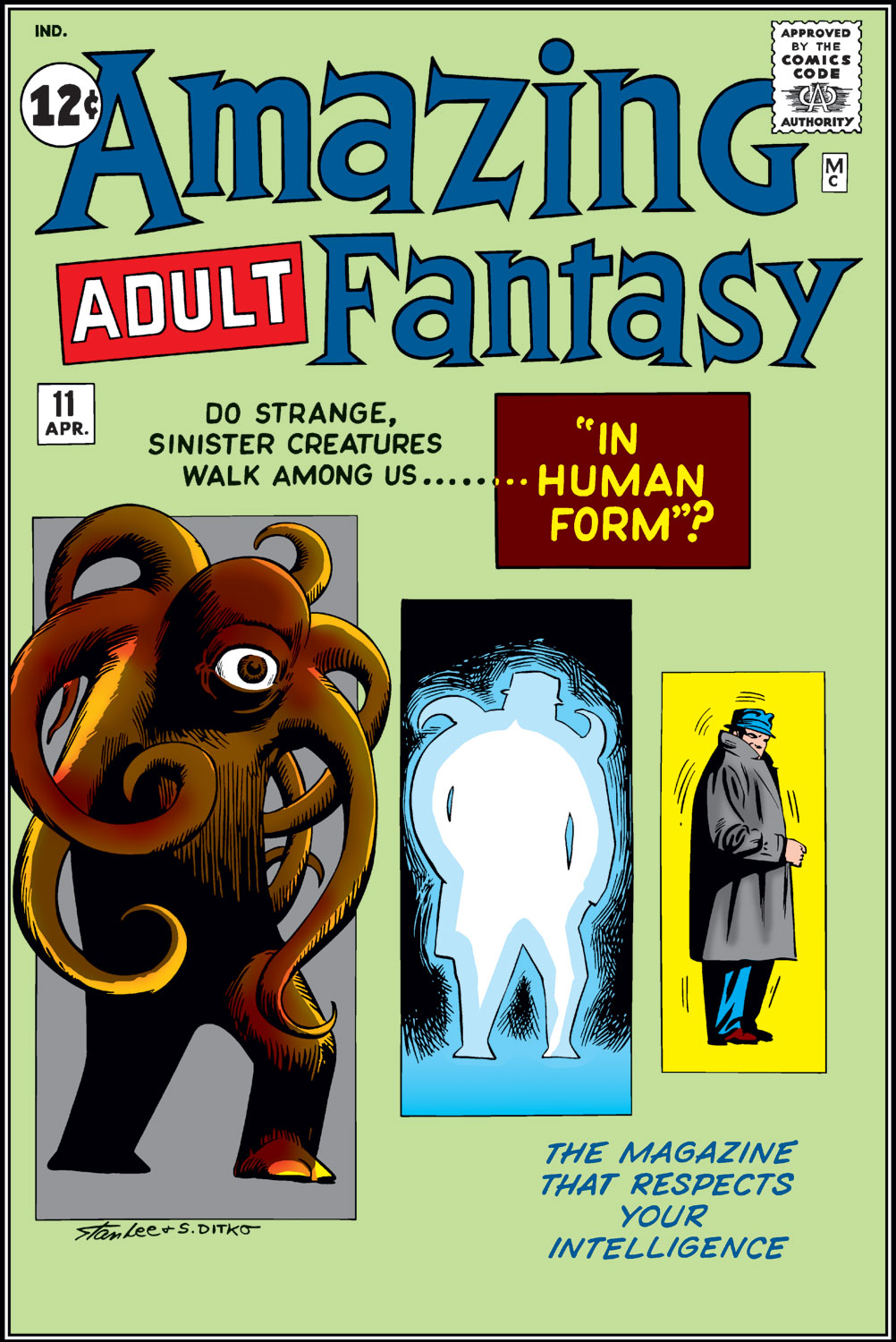 Read online Amazing Adult Fantasy comic -  Issue #11 - 1
