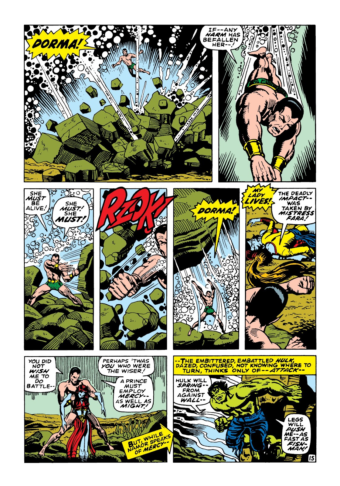 Read online Marvel Masterworks: The Incredible Hulk comic -  Issue # TPB 5 (Part 2) - 68