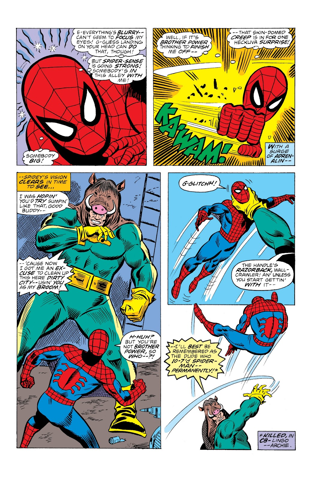 Read online Marvel Masterworks: The Spectacular Spider-Man comic -  Issue # TPB (Part 3) - 12