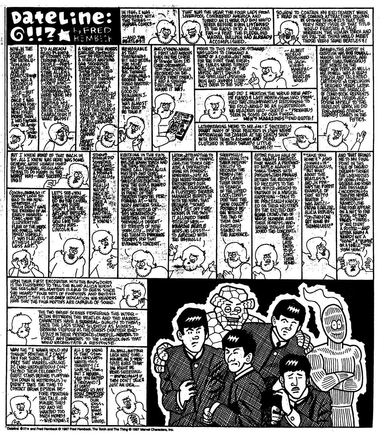 Read online The Nearly Complete Essential Hembeck Archives Omnibus comic -  Issue # TPB (Part 7) - 38