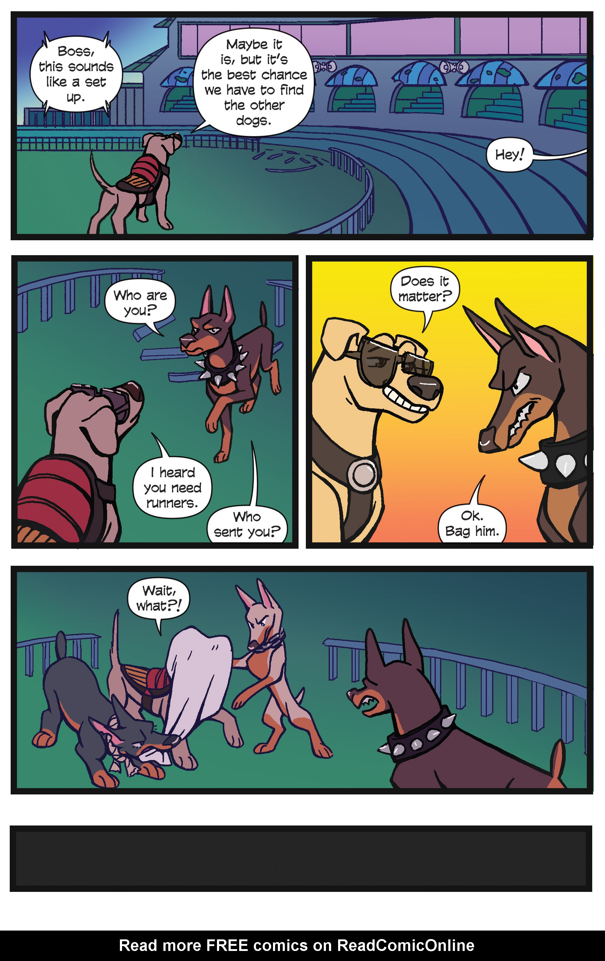 Read online Action Lab, Dog of Wonder comic -  Issue #4 - 19
