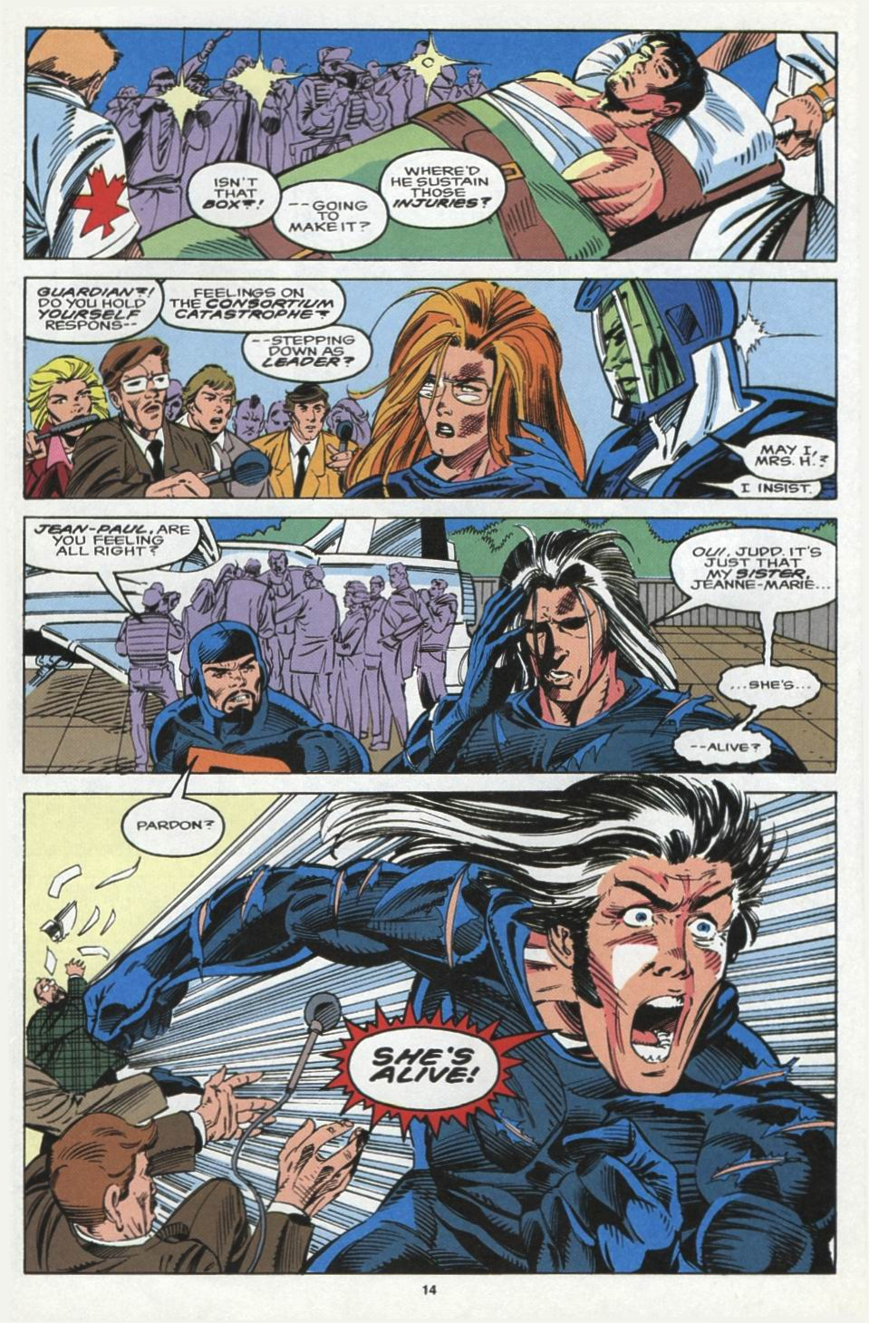 Read online Alpha Flight (1983) comic -  Issue #104 - 12