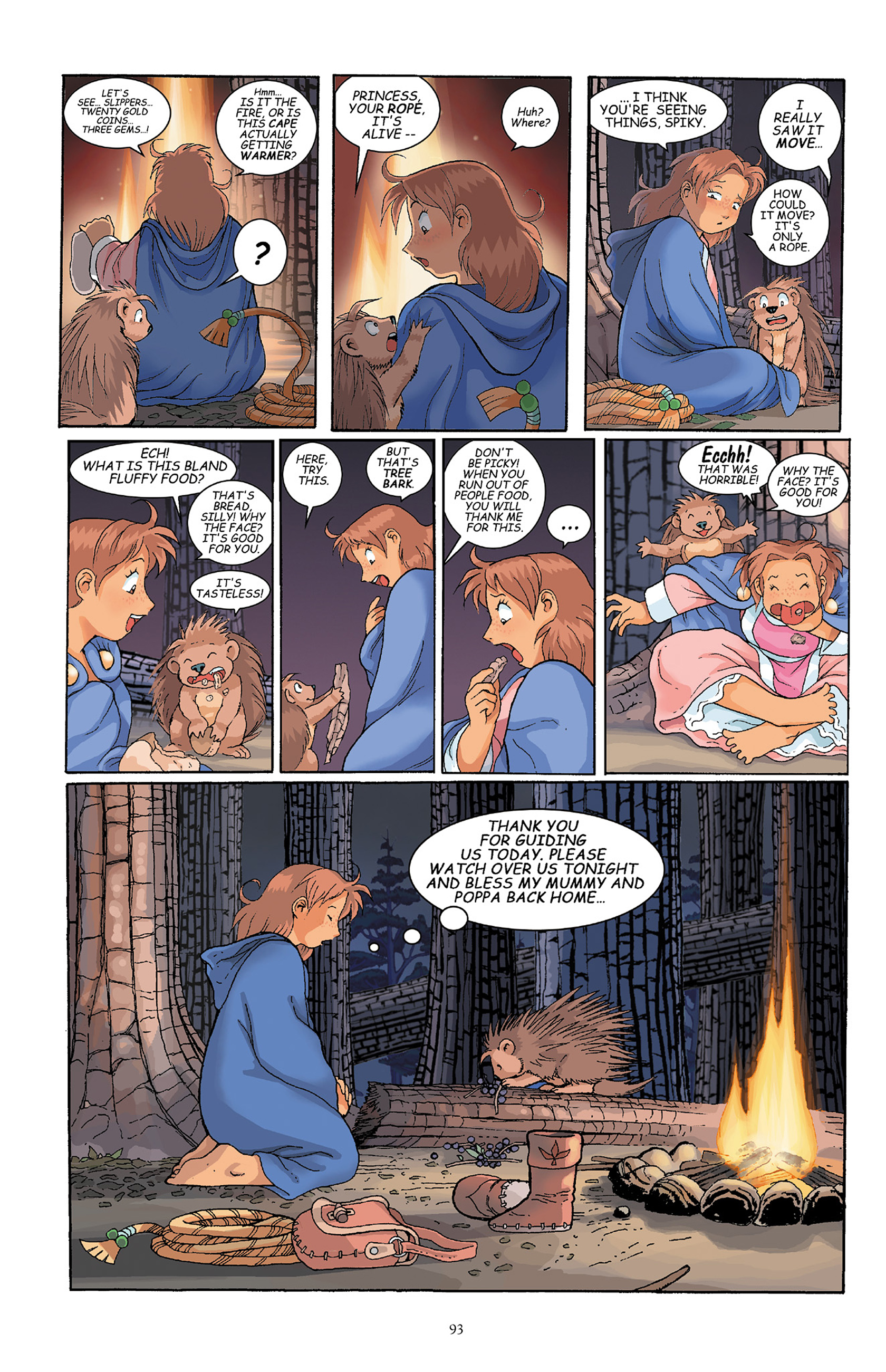Read online Courageous Princess comic -  Issue # TPB 1 - 93