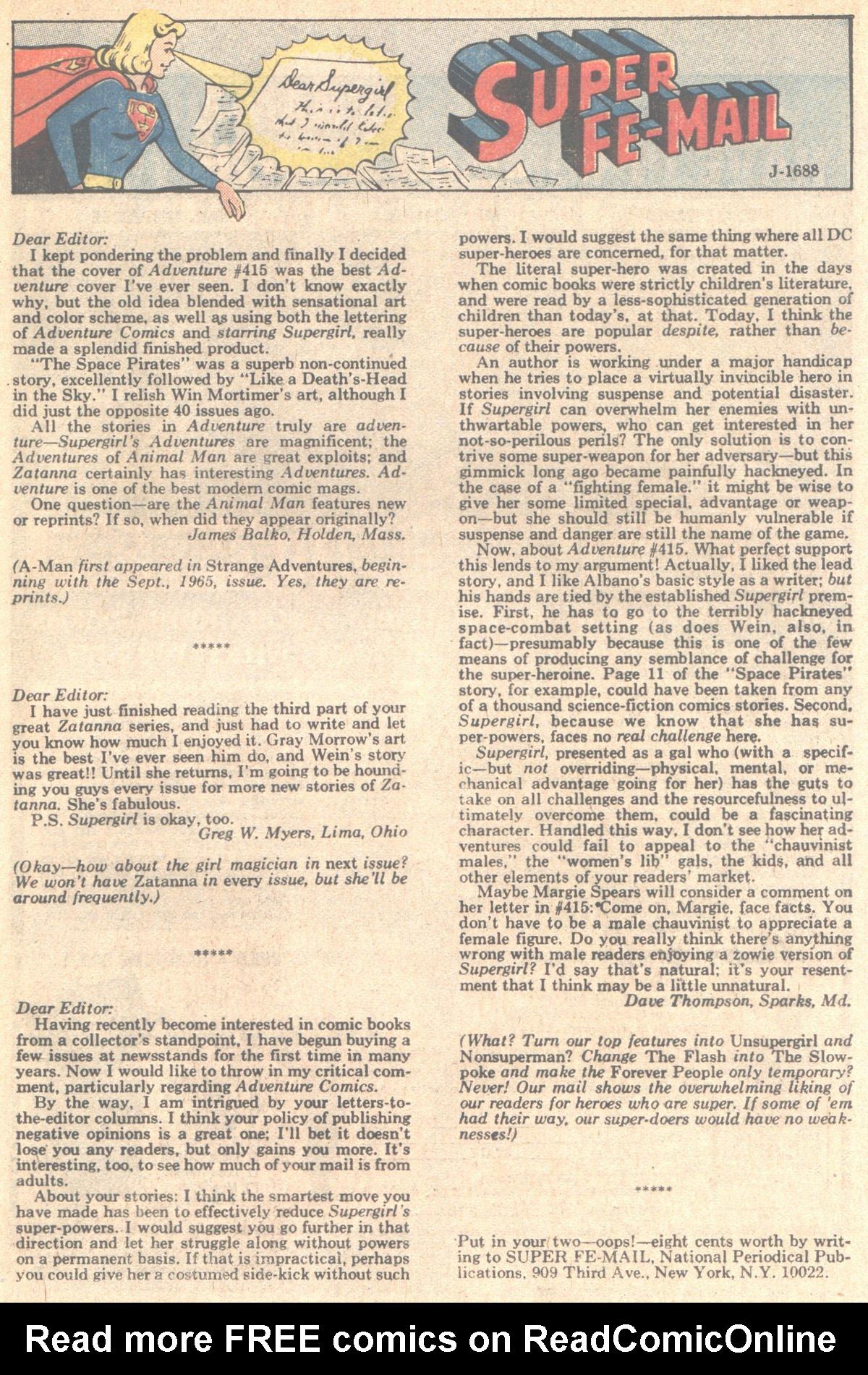 Read online Adventure Comics (1938) comic -  Issue #420 - 49