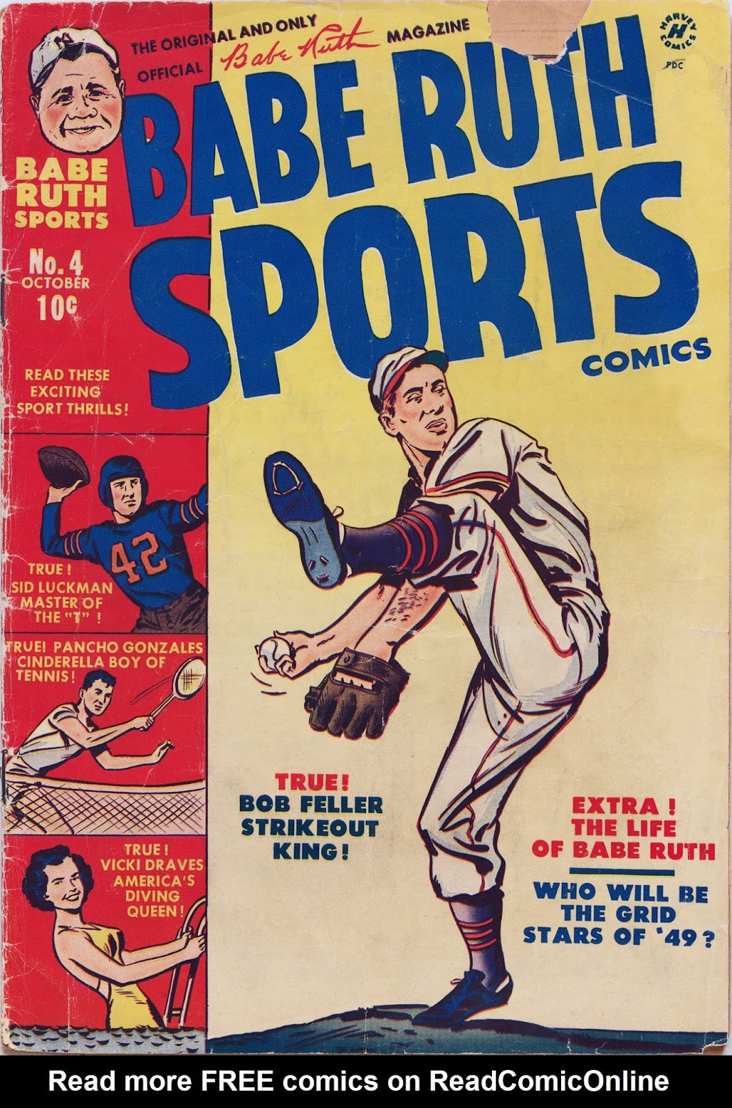 Babe Ruth Sports Comics issue 4 - Page 1