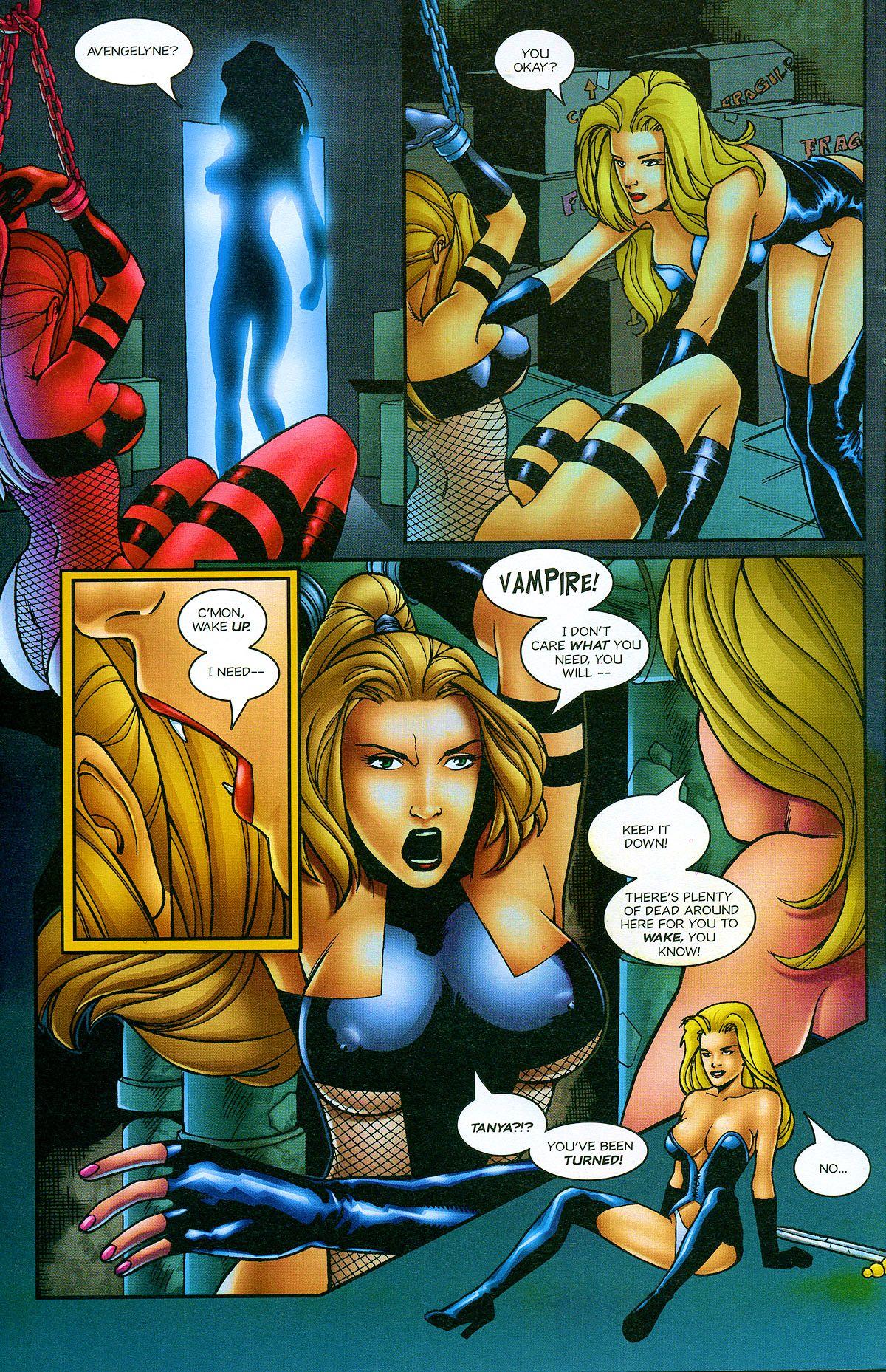 Read online Avengelyne: Bad Blood comic -  Issue #2 - 15