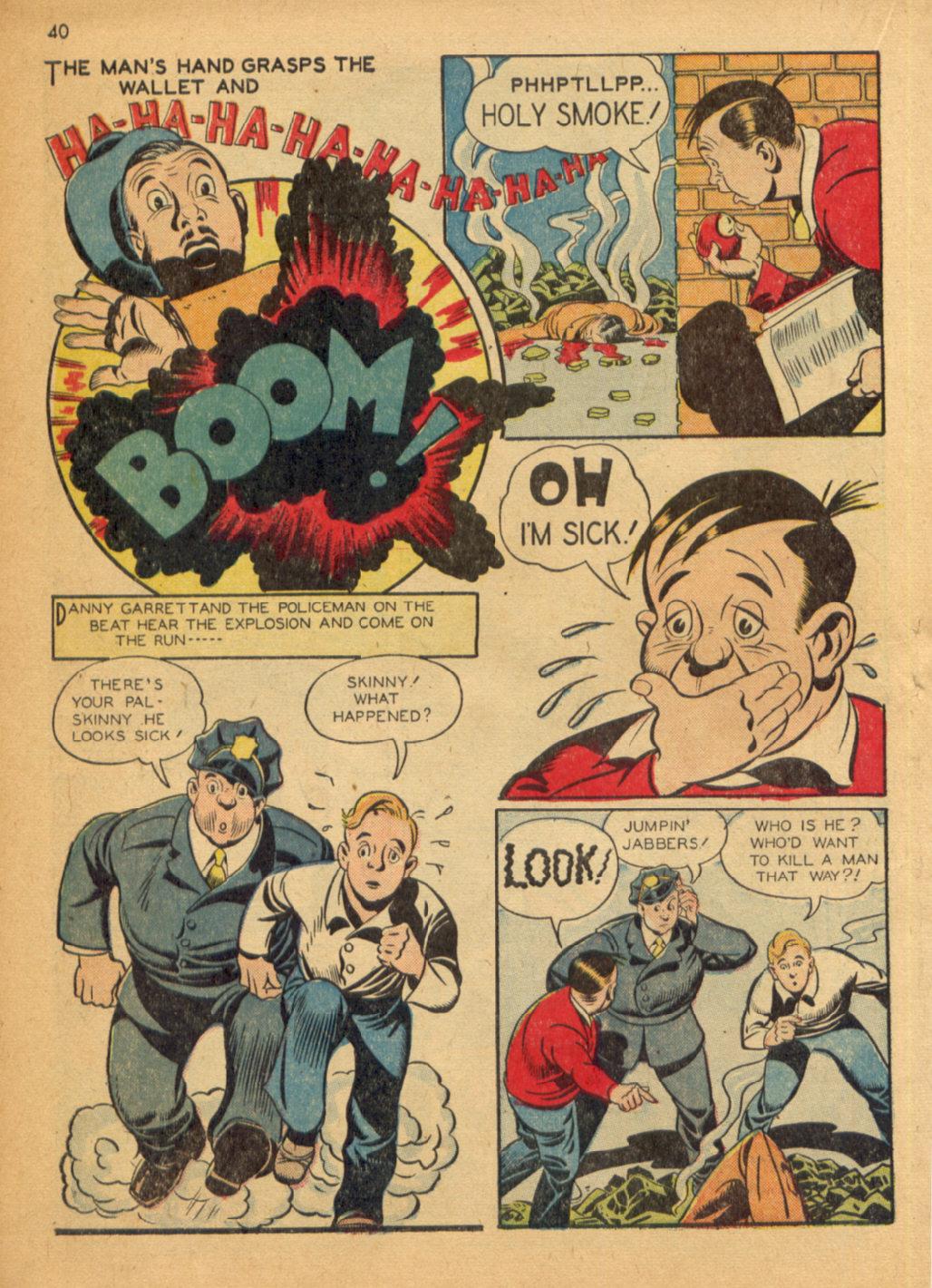 Read online Shadow Comics comic -  Issue #32 - 41