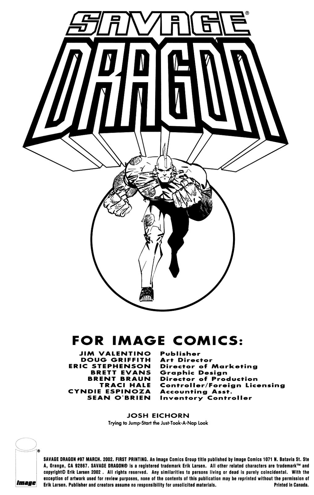 The Savage Dragon (1993) Issue #97 #100 - English 2